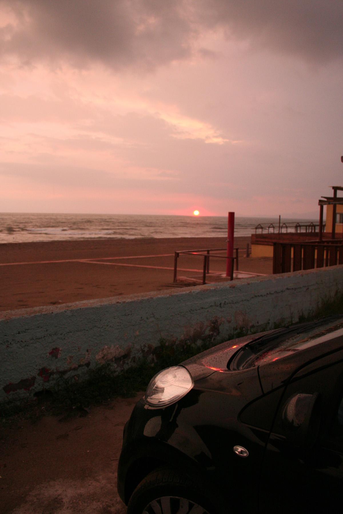 Sunset Car, Beach, Bspo06, Car, Clouds, HQ Photo
