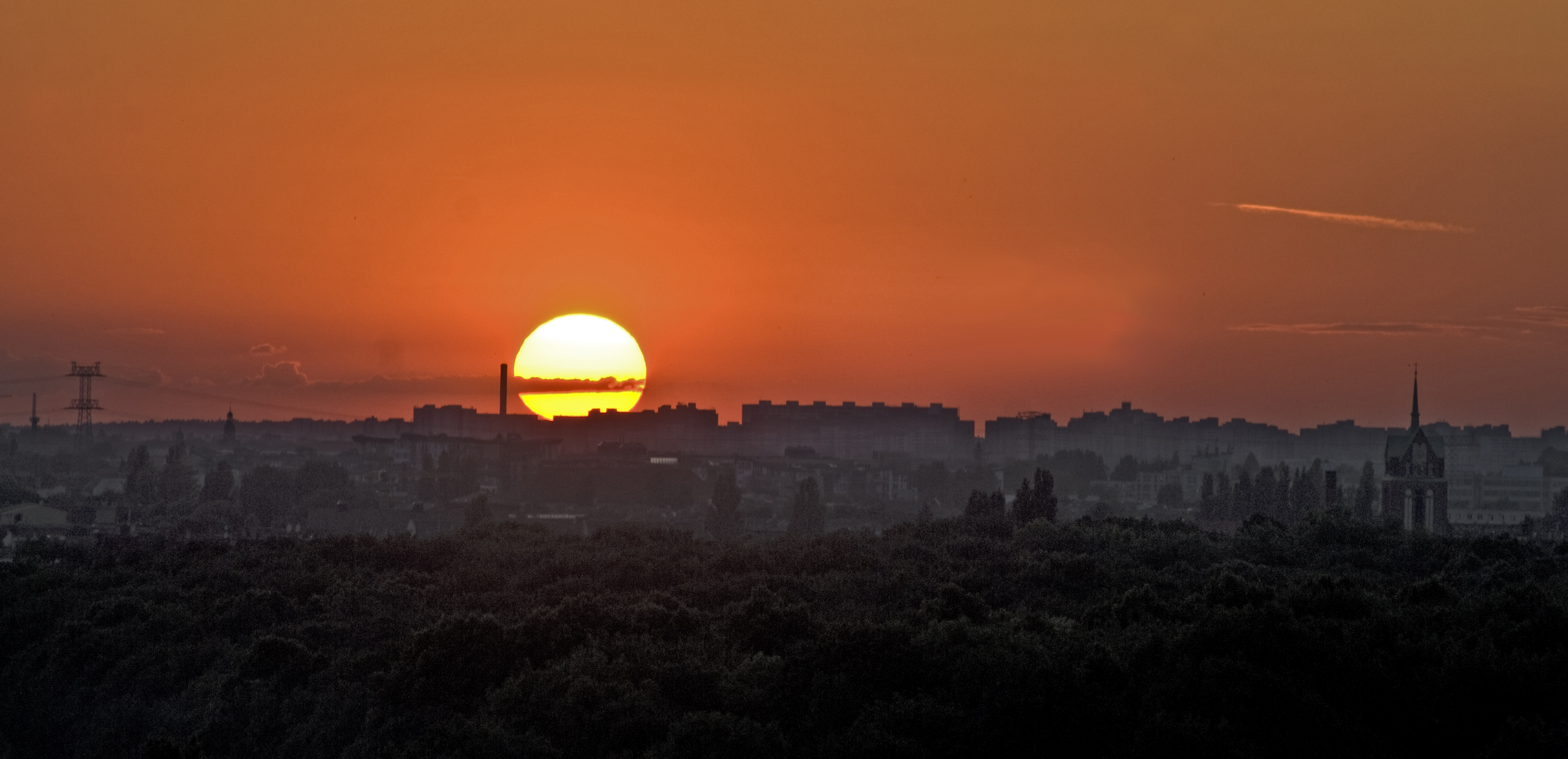 Free photo: Sunset in Berlin - Storm, Sunset, Sky - Free