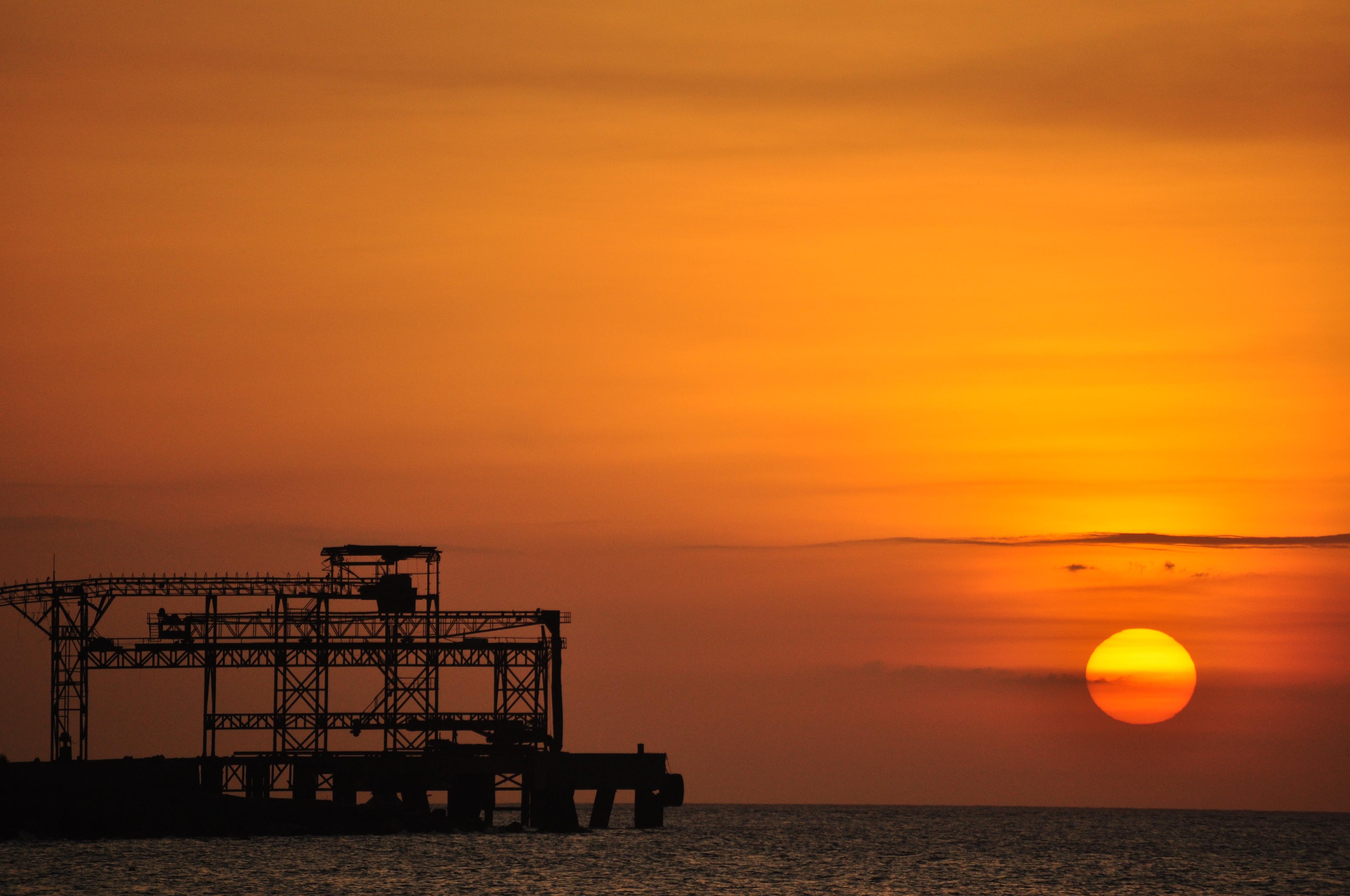 Sunset in bulata photo