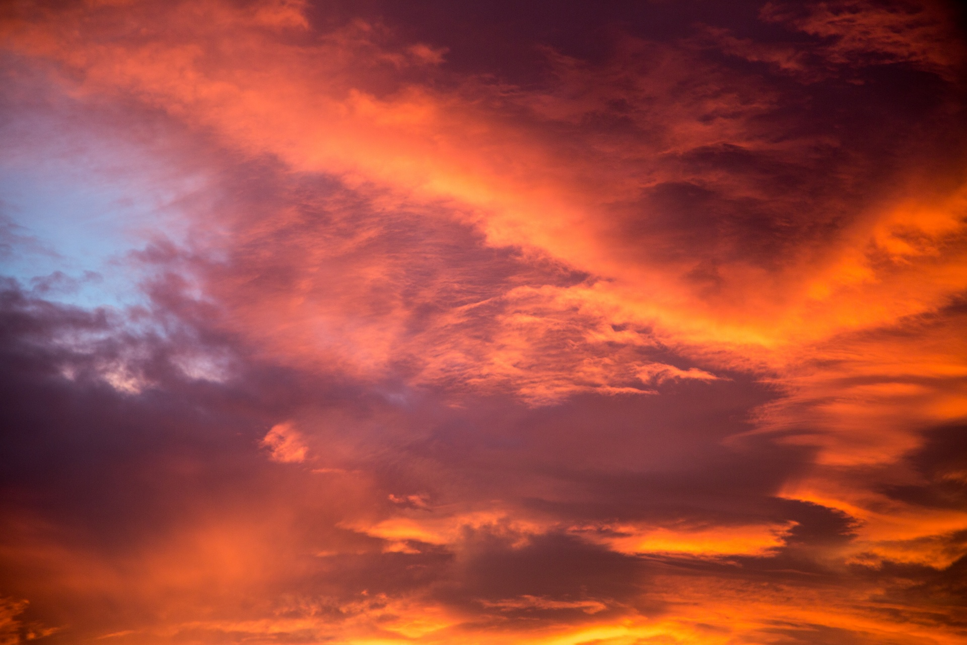Sunset Sky Free Stock Photo - Public Domain Pictures