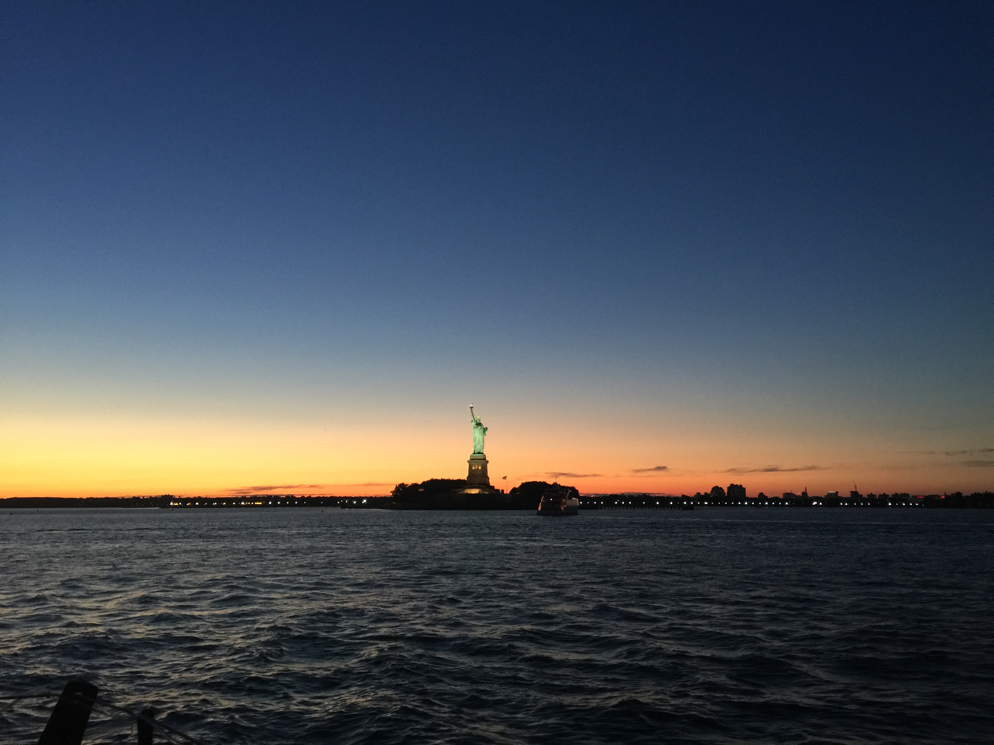 Sunset cruise to Statue of Liberty tickets & information