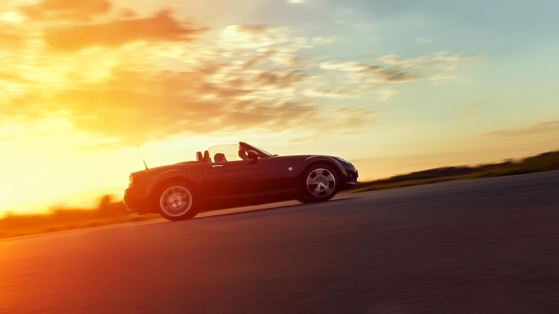 Sunset trackday photo