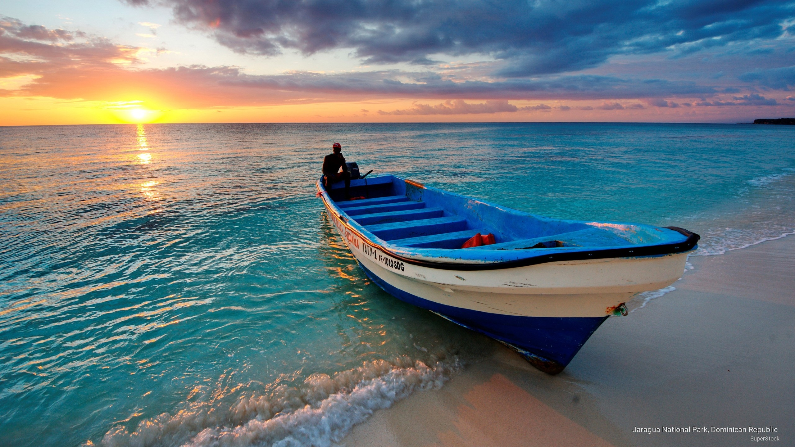 Beaches: Beach Boats Sunset Oceans Sunsets Boat Sea Nature Beaches ...