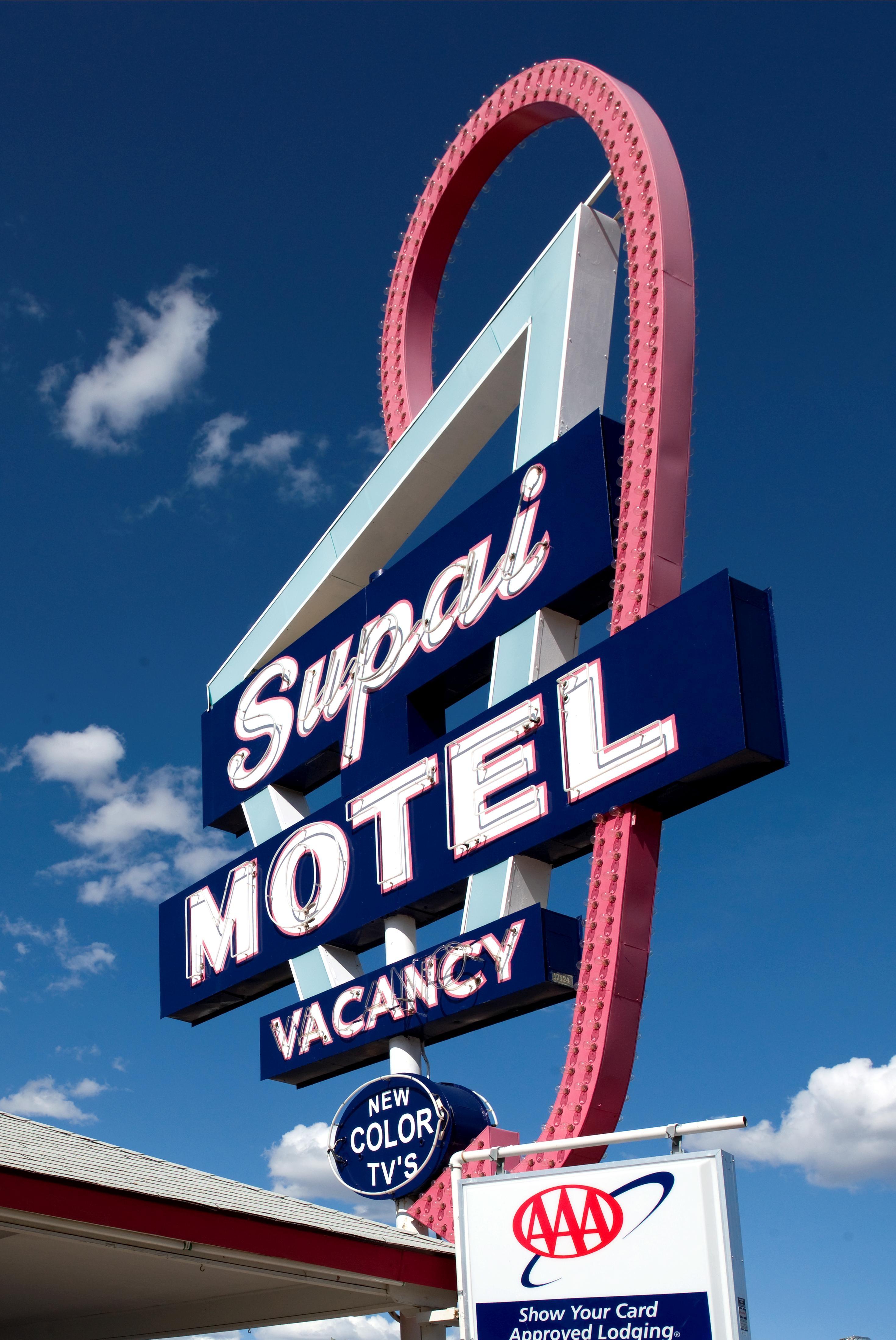Supai Motel, Sign, Object, Motel, Hotel, HQ Photo