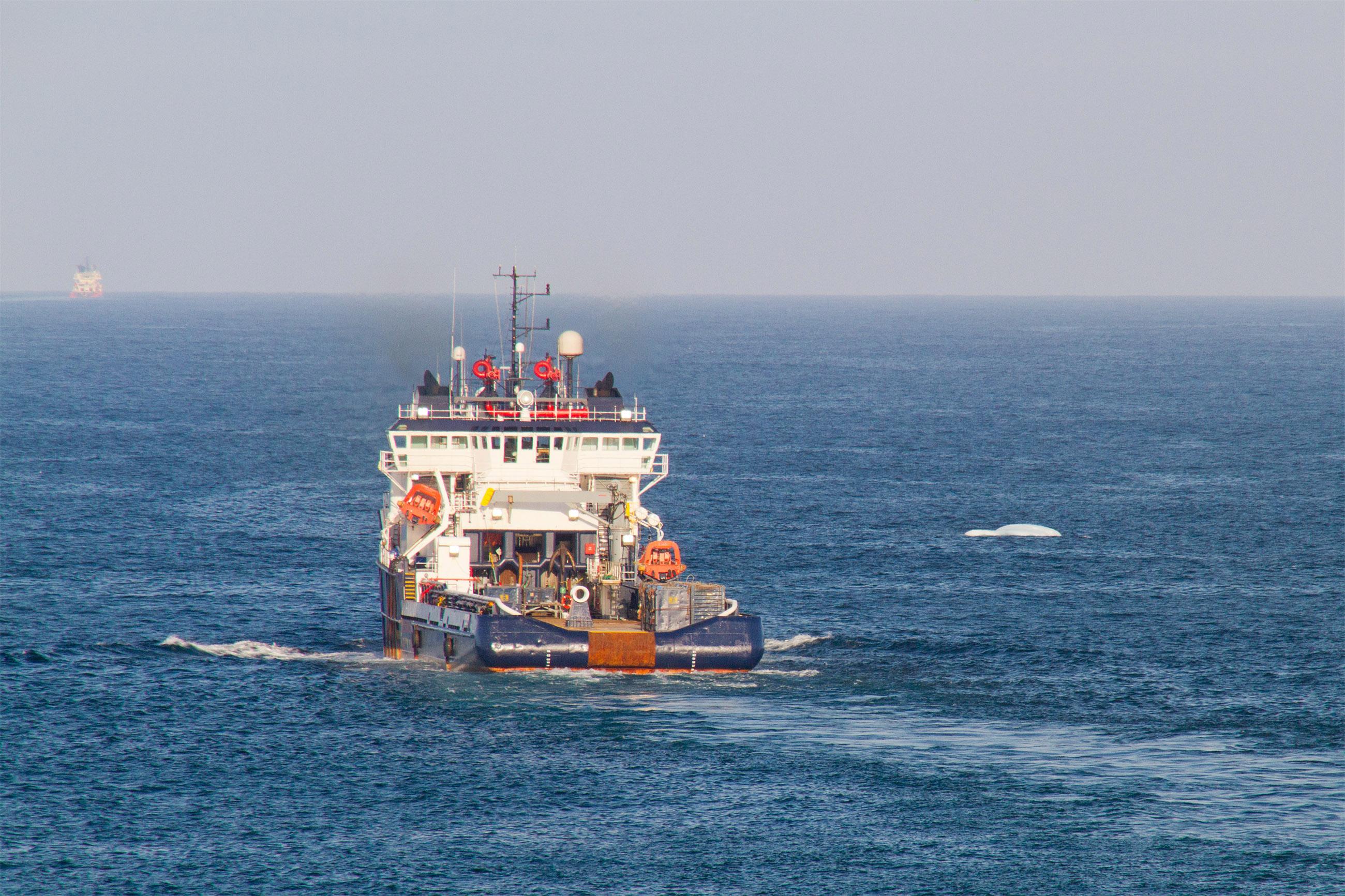 Supply vessel photo