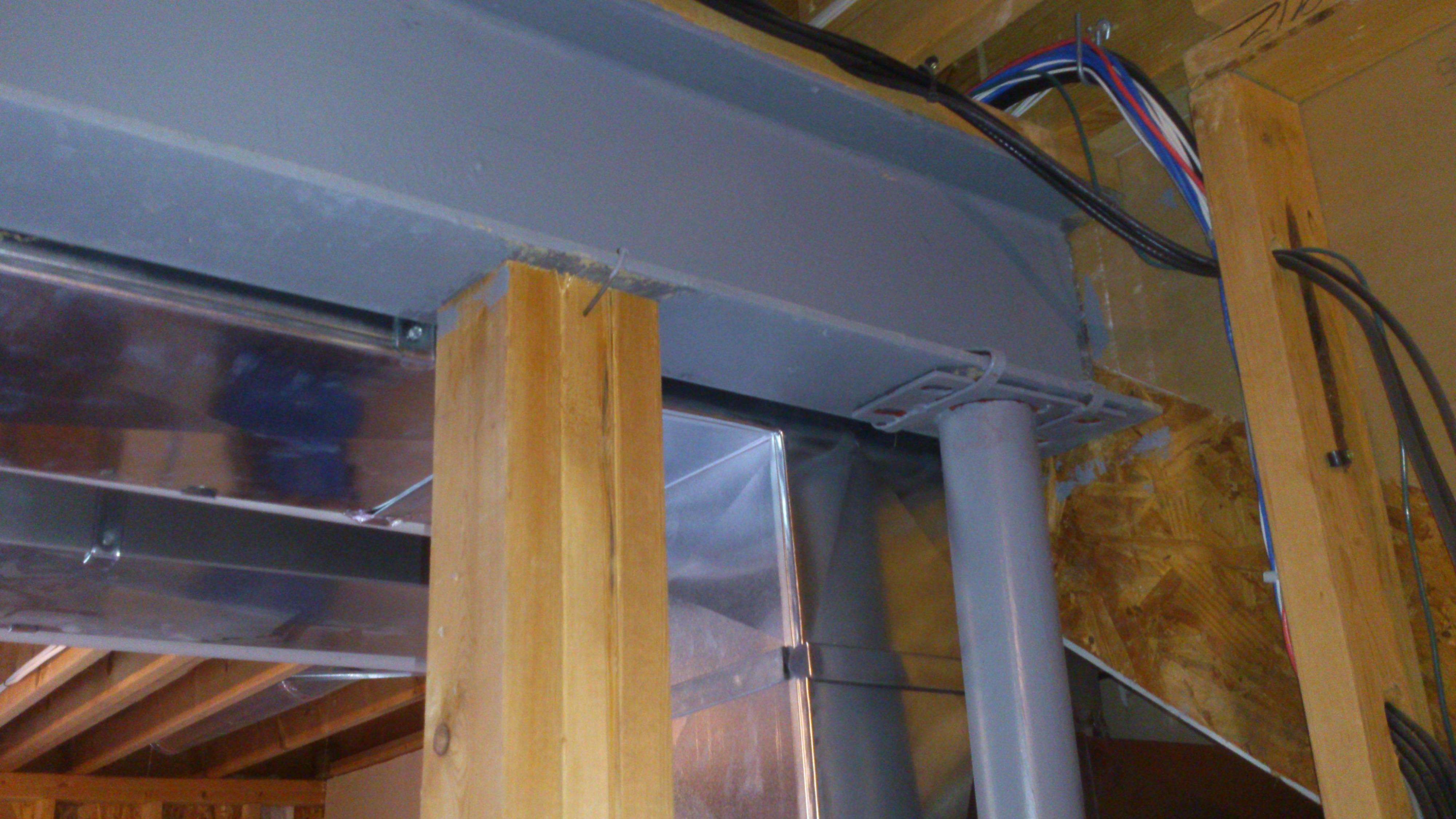 Free Photo Support Beams Columns Concrete