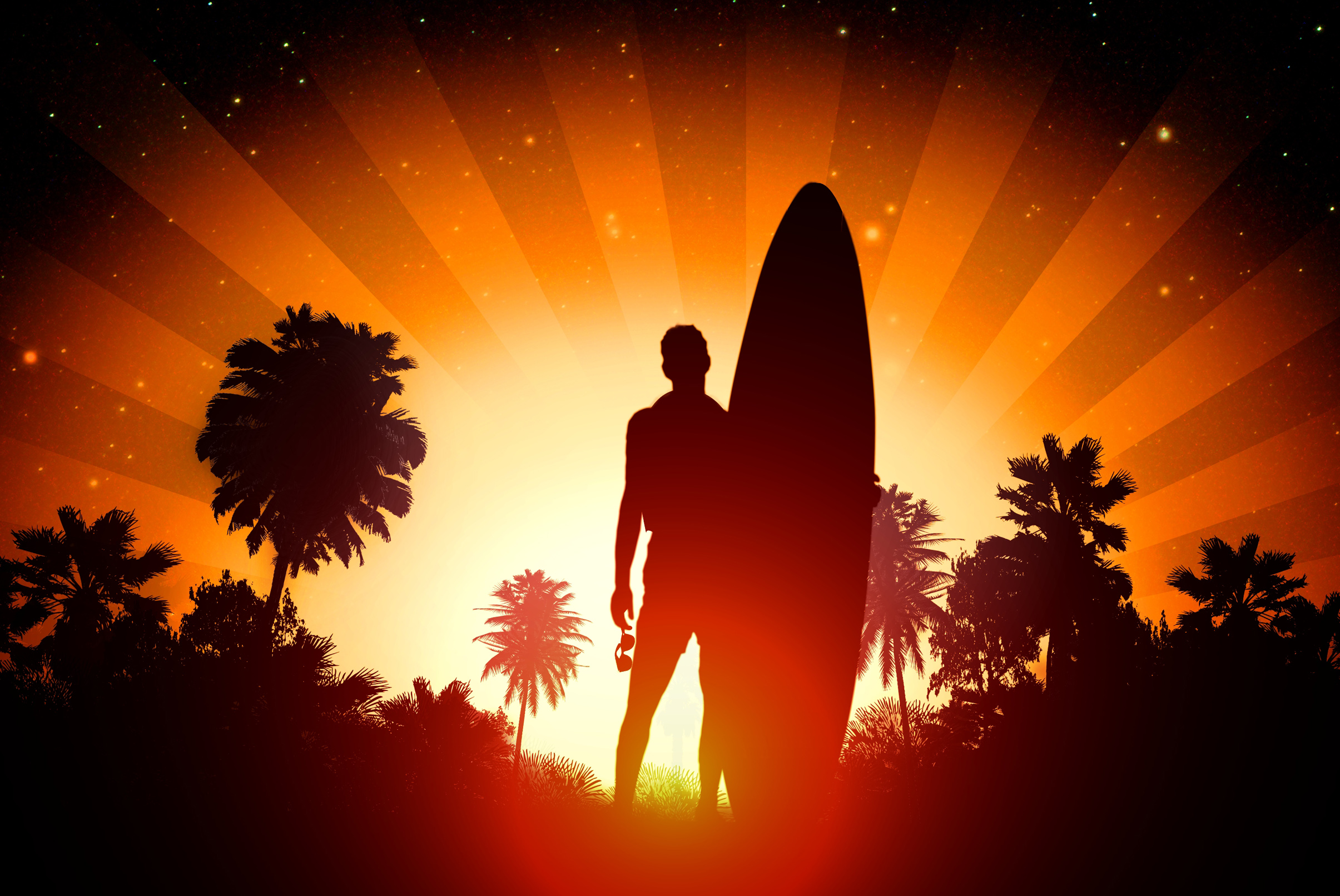 Surfer - surfing lifestyle concept photo