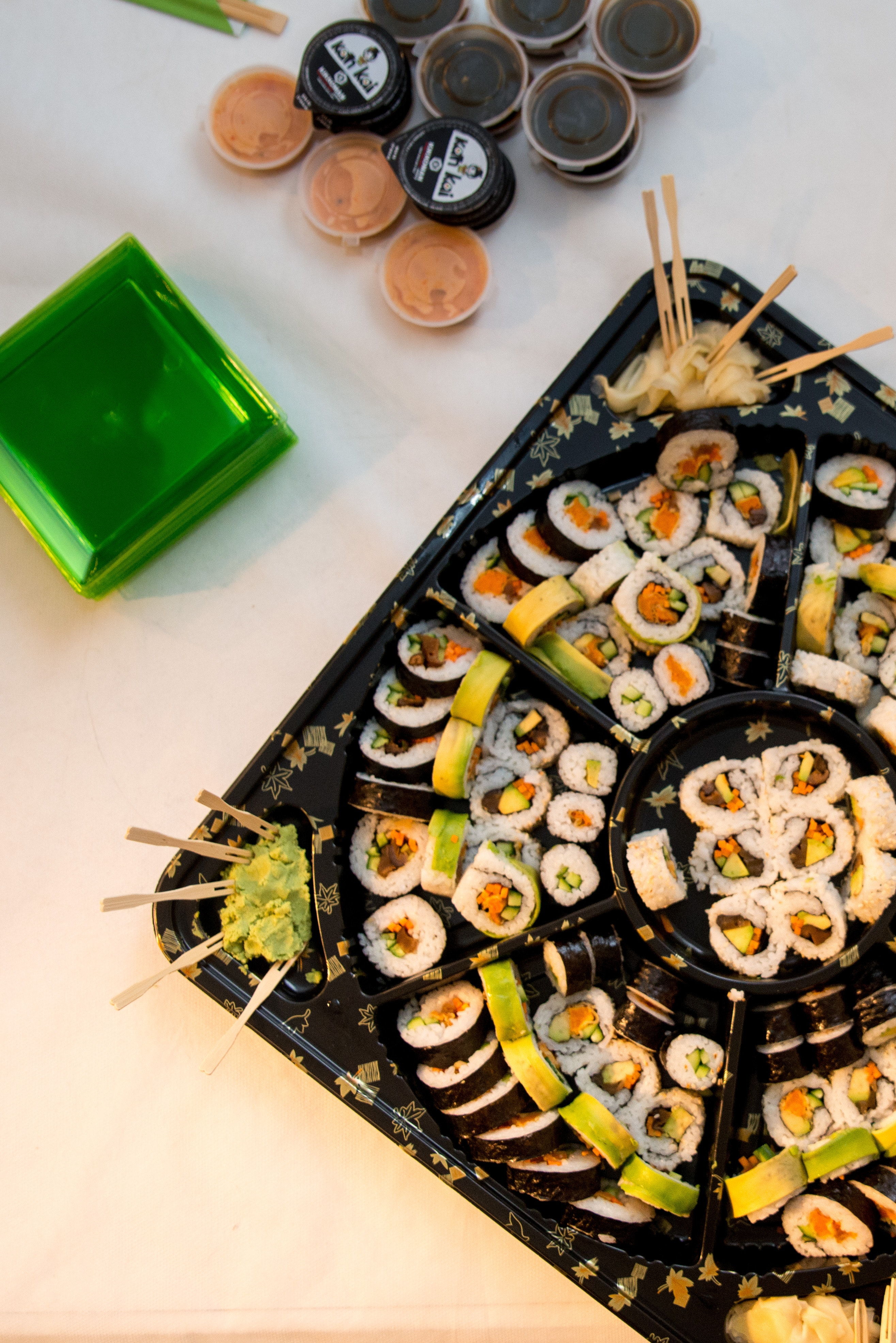 Sushi, Set, Shapes, Plate, Nutrition, HQ Photo
