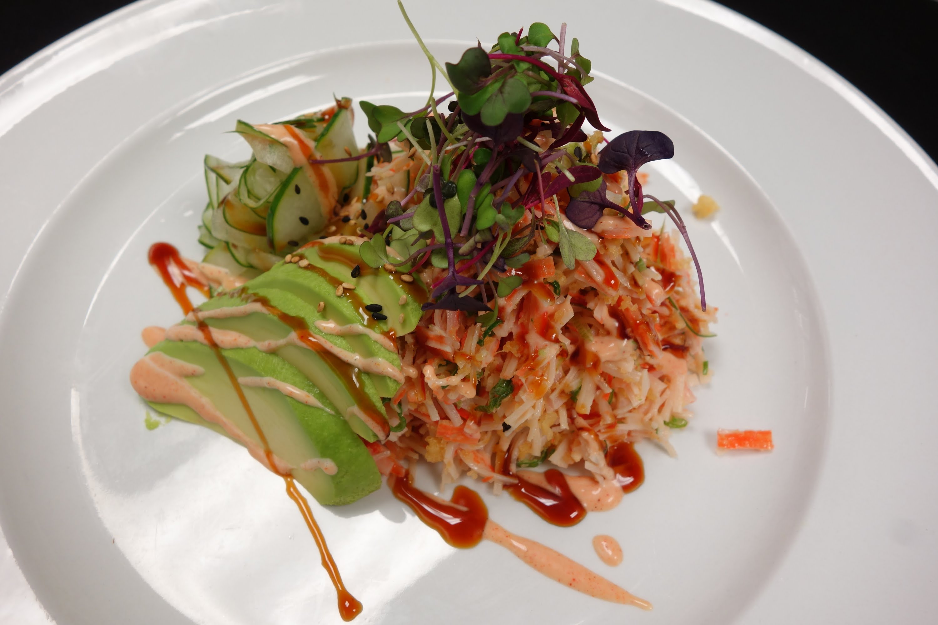 Crunchy Crab Salad - How To Make Sushi Series - YouTube
