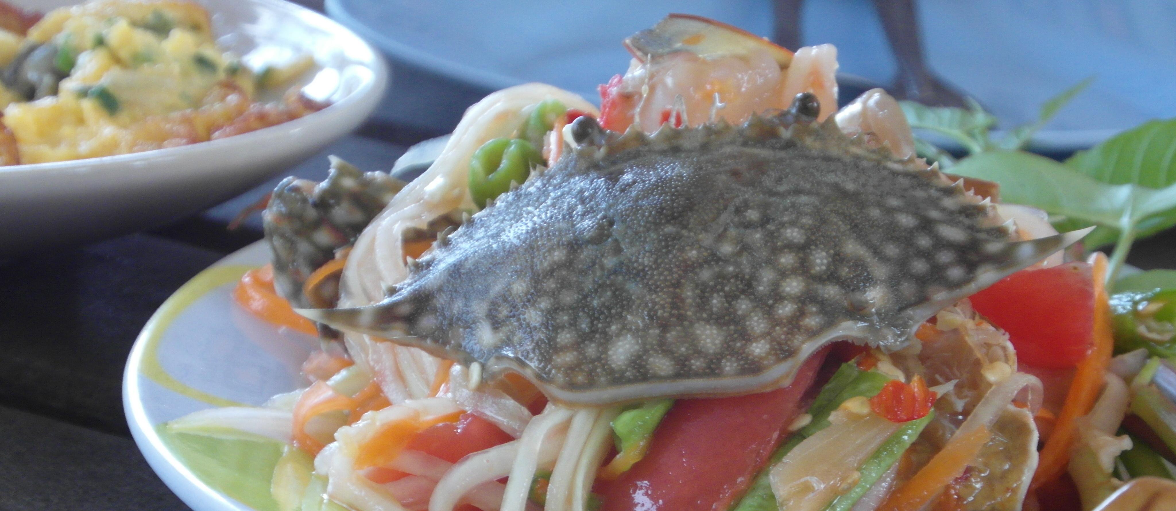 Sushi Crab Salad, Restaurant, Raw, Oriental, Salad, HQ Photo