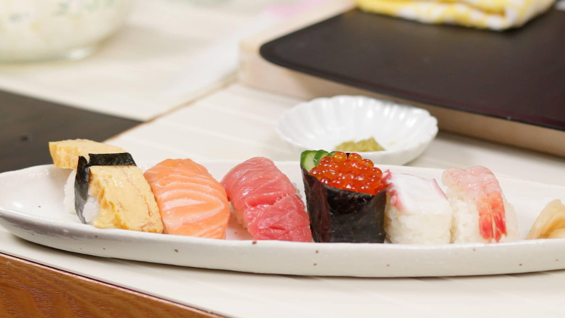 Nigiri Sushi Recipe (Nigirizushi) – Cooking with Dog