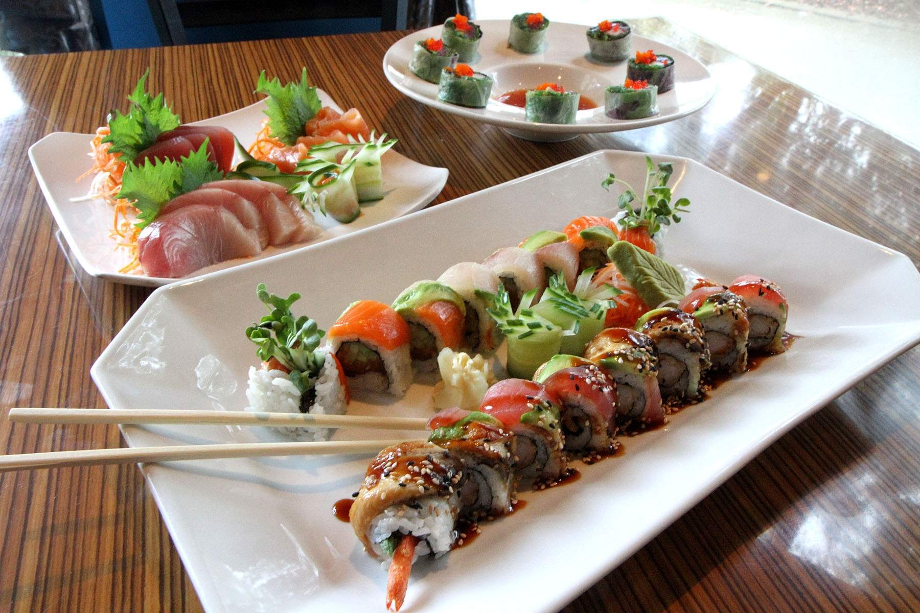 Dining Review: The Ocean Blue Sushi Bar is family friendly | tbo.com