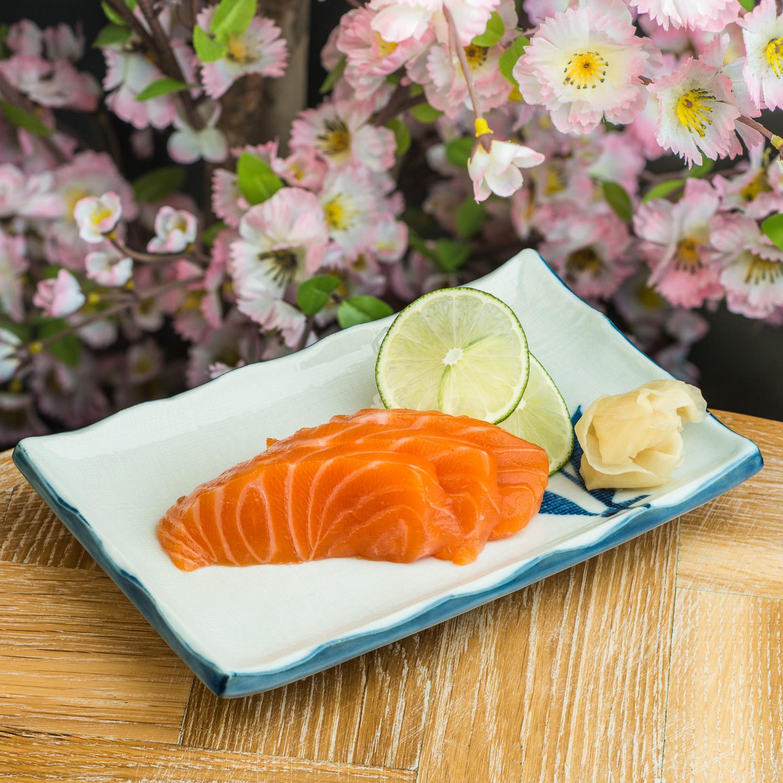 Bamboo Japanese Sushi Plate