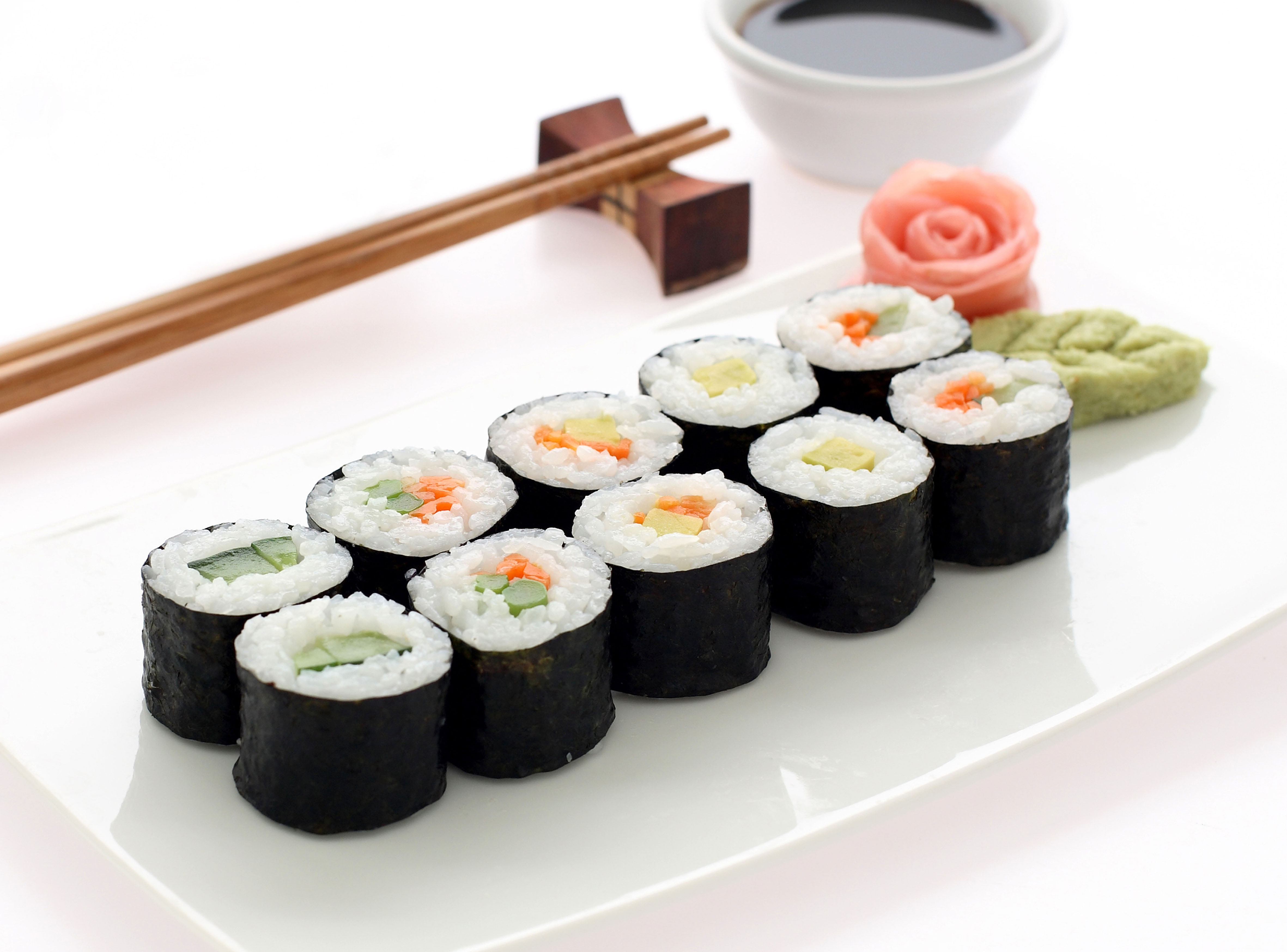 HIC Sushi Plate, 9in