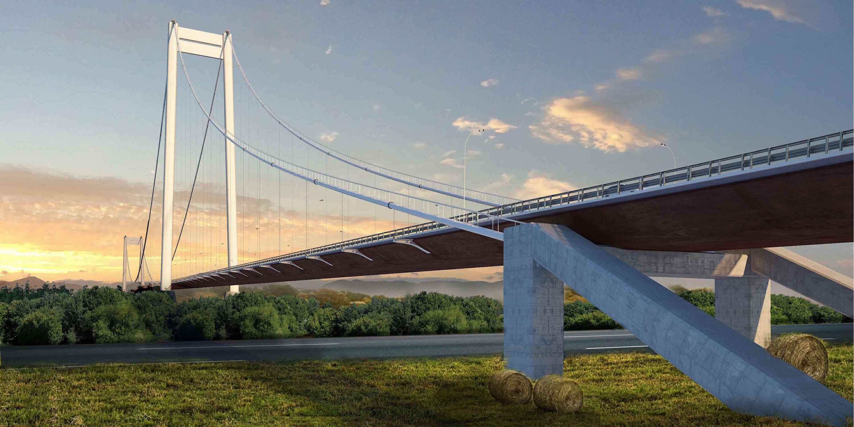 ASTALDI WILL BUILD THE SUSPENSION BRIDGE OVER THE DANUBE IN THE ...