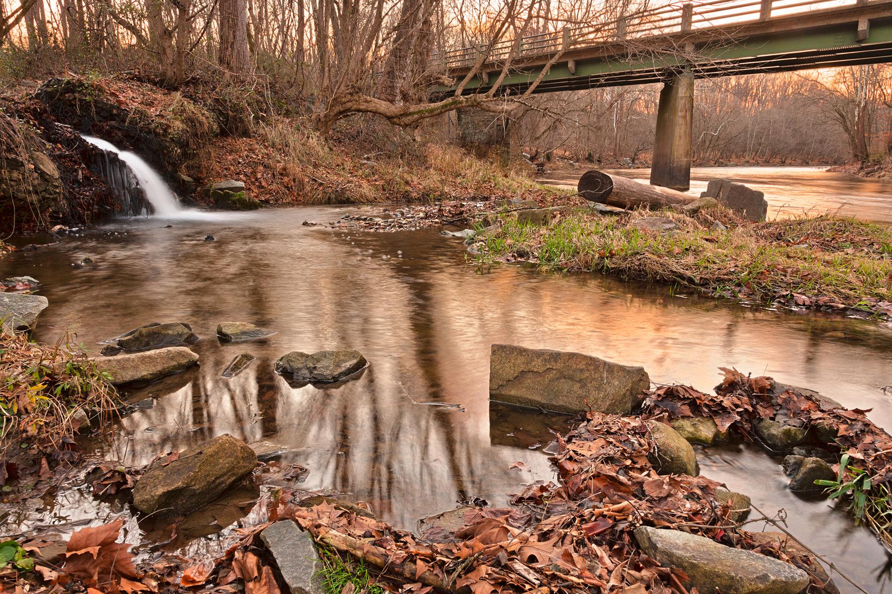 Susquehanna Sunset Stream - HDR, Afternoon, Pretty, Shades, Shade, HQ Photo