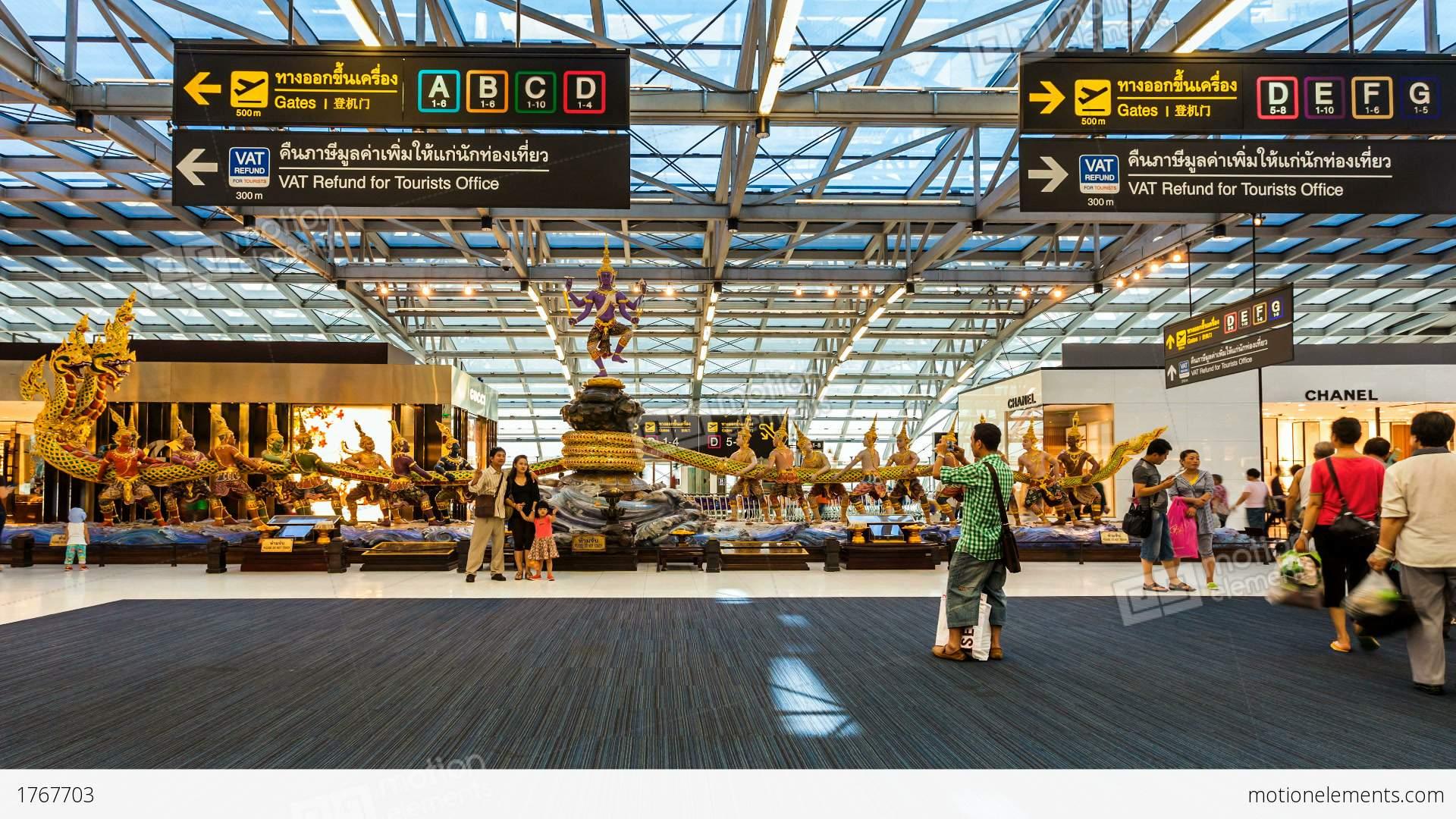Suvarnabhumi airport photo