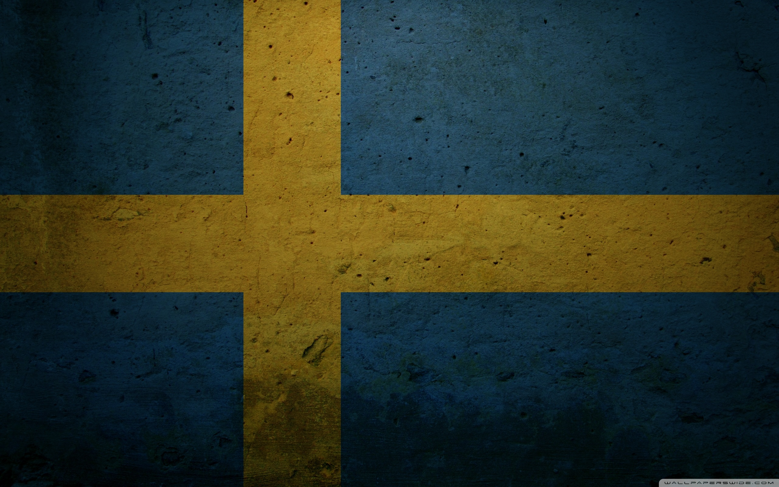 Grunge Flag Of Sweden ❤ 4K HD Desktop Wallpaper for 4K Ultra HD TV ...