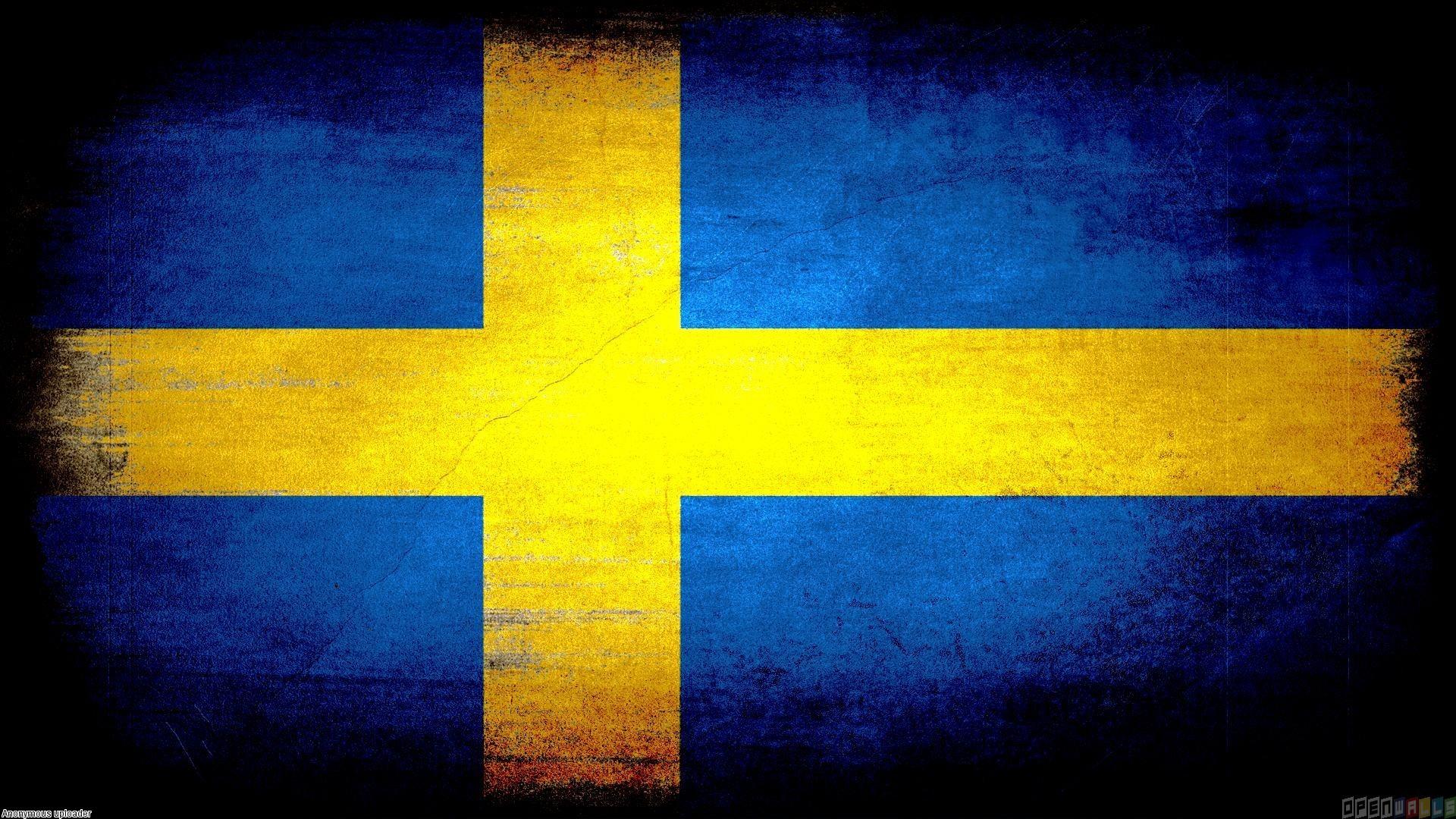 Sweden flag grunge wallpaper #20178 - Open Walls