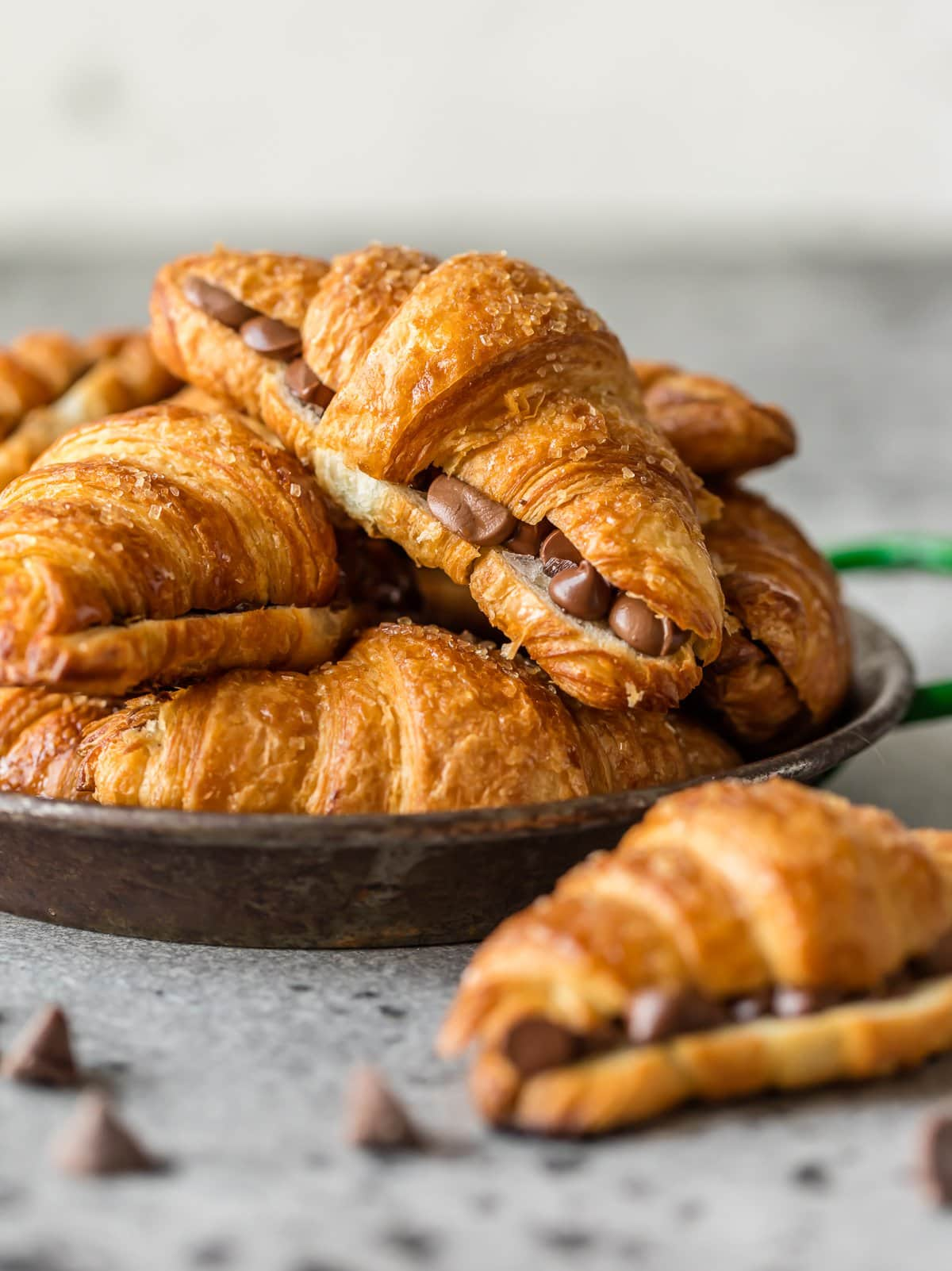 Sweet croissants photo