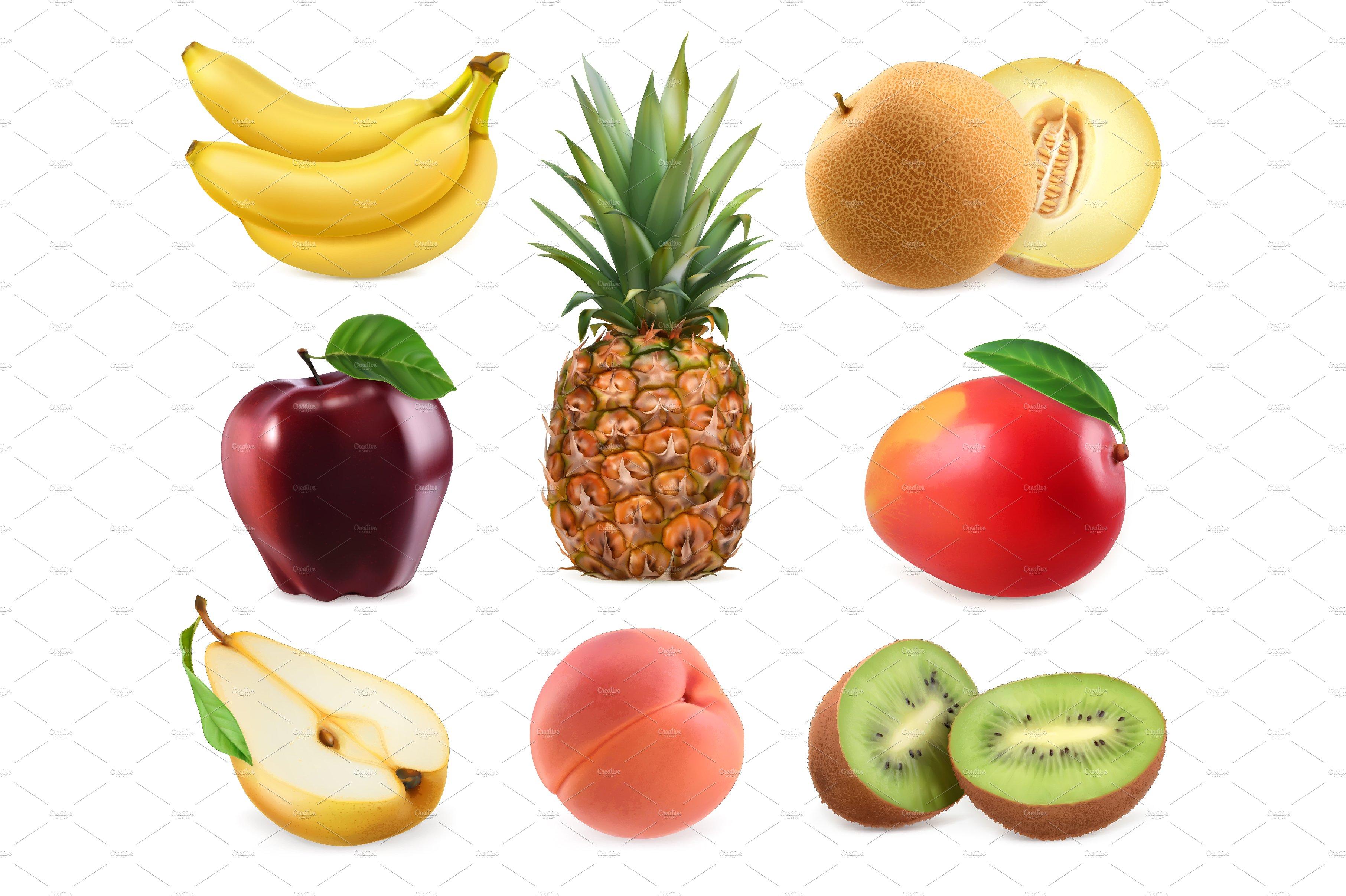Sweet fruits photo