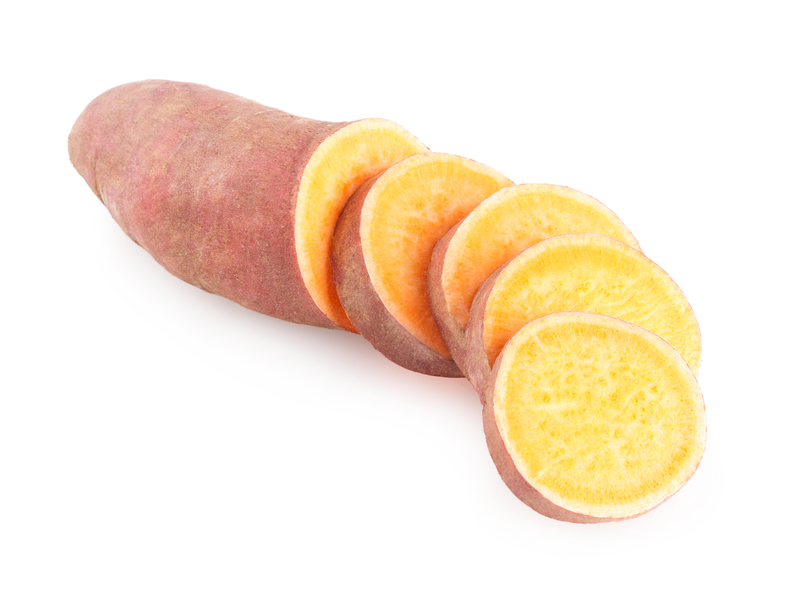 Sweet potato sliced, Single, Snack, Starch, Root, HQ Photo