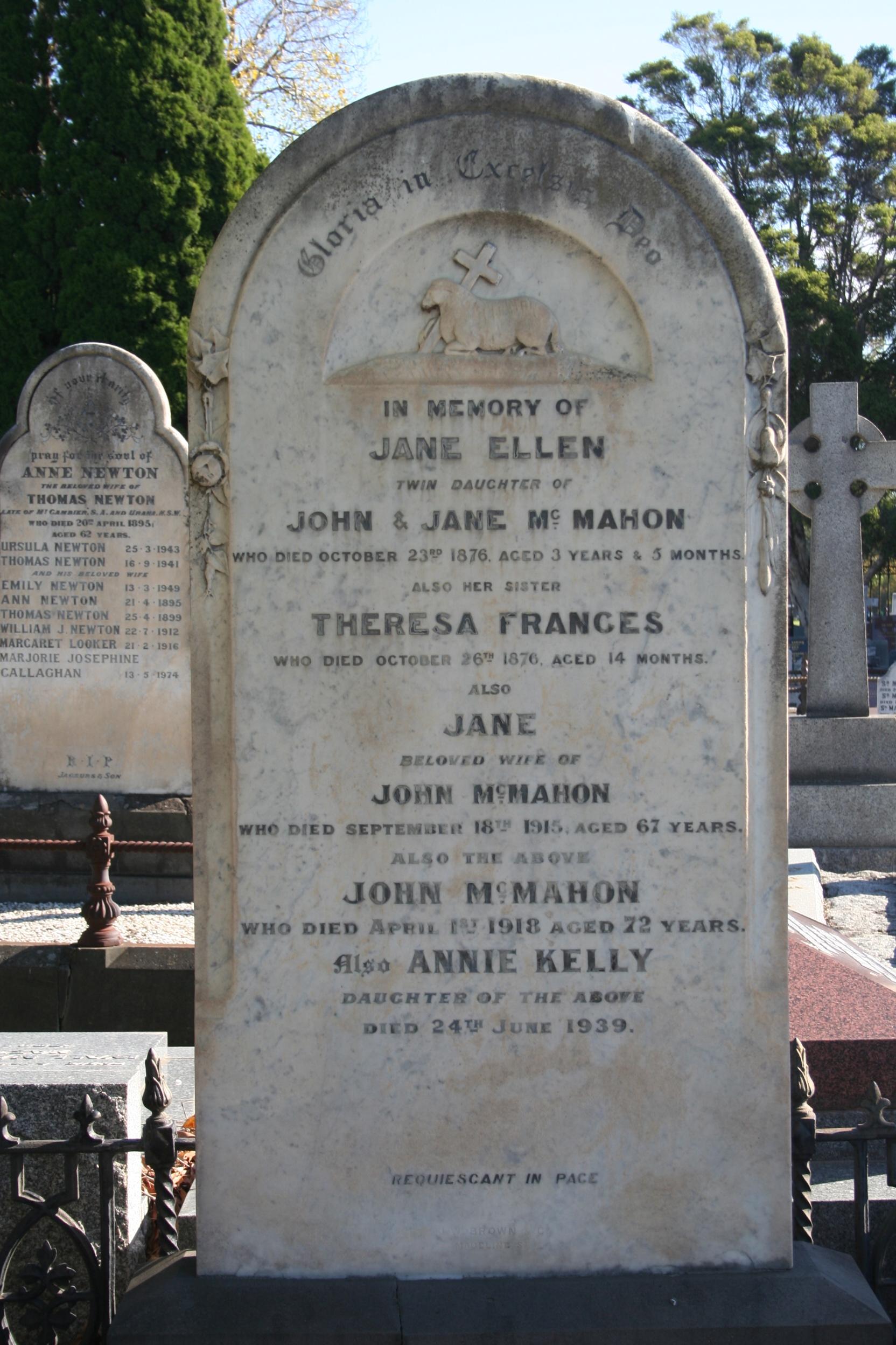 Melbourne cemetery – Elvis and billiards | Melbourne Circle: stories ...