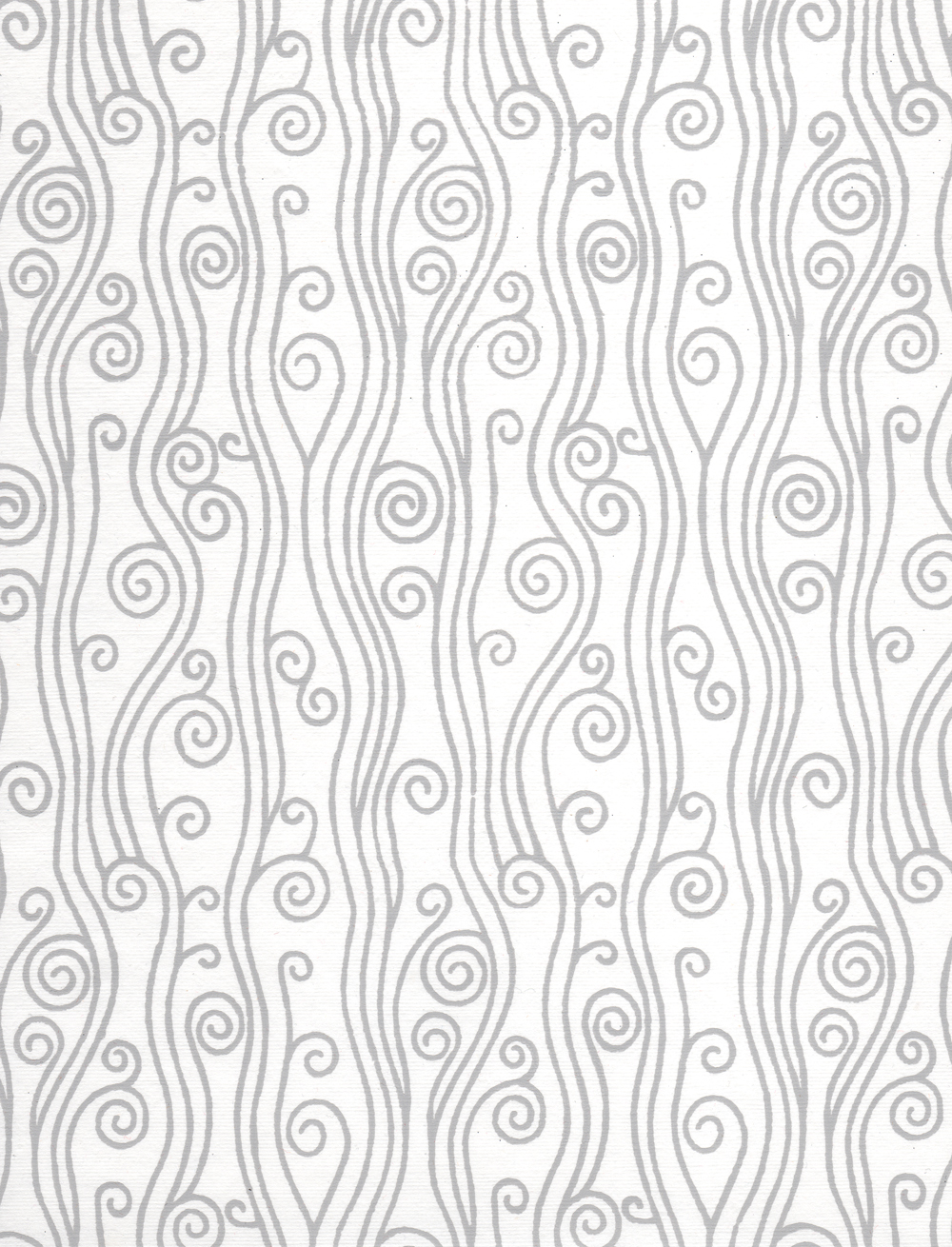 Swirly Pattern On White Paper, Antique, Scan, White, Vintage, HQ Photo
