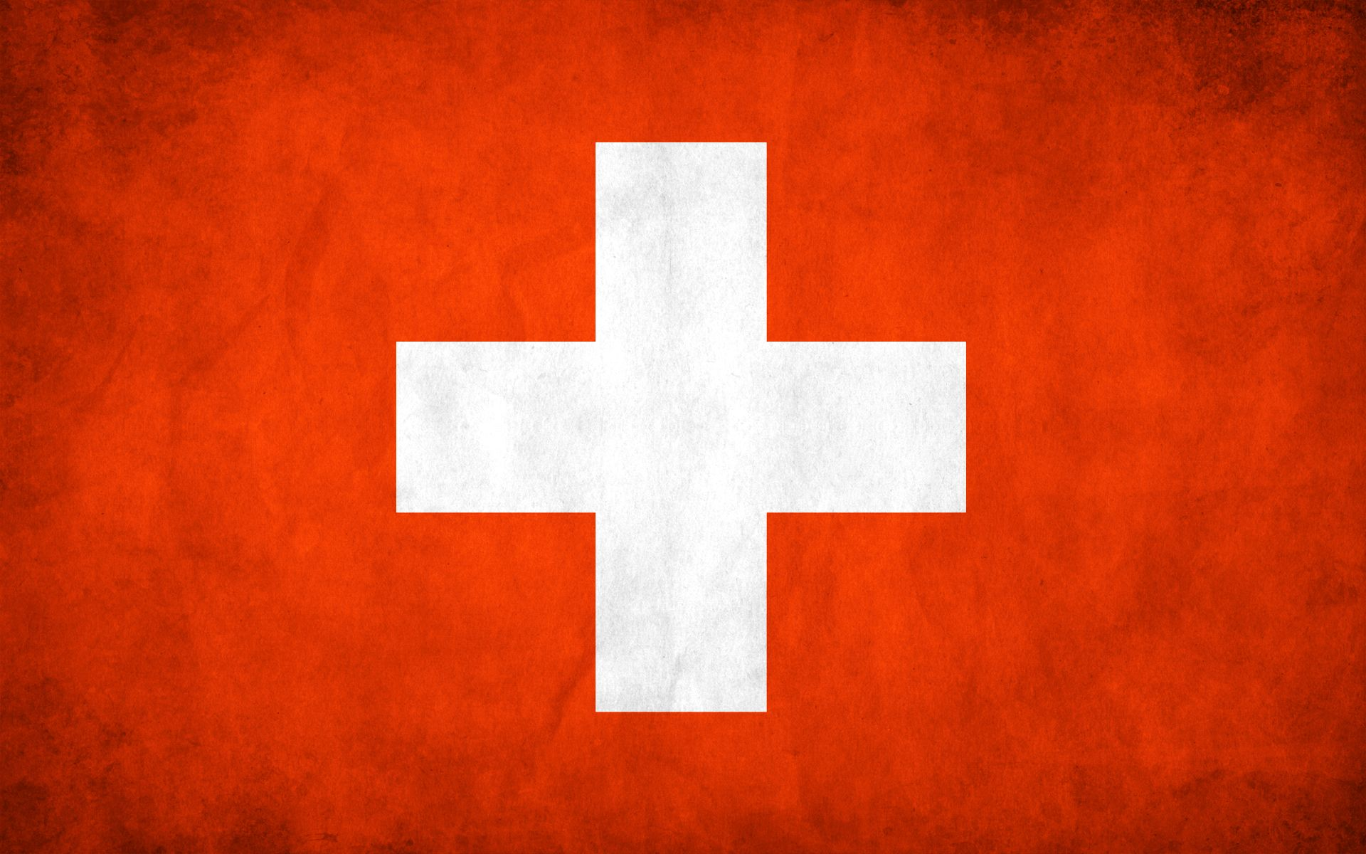 Switzerland grunge flag photo