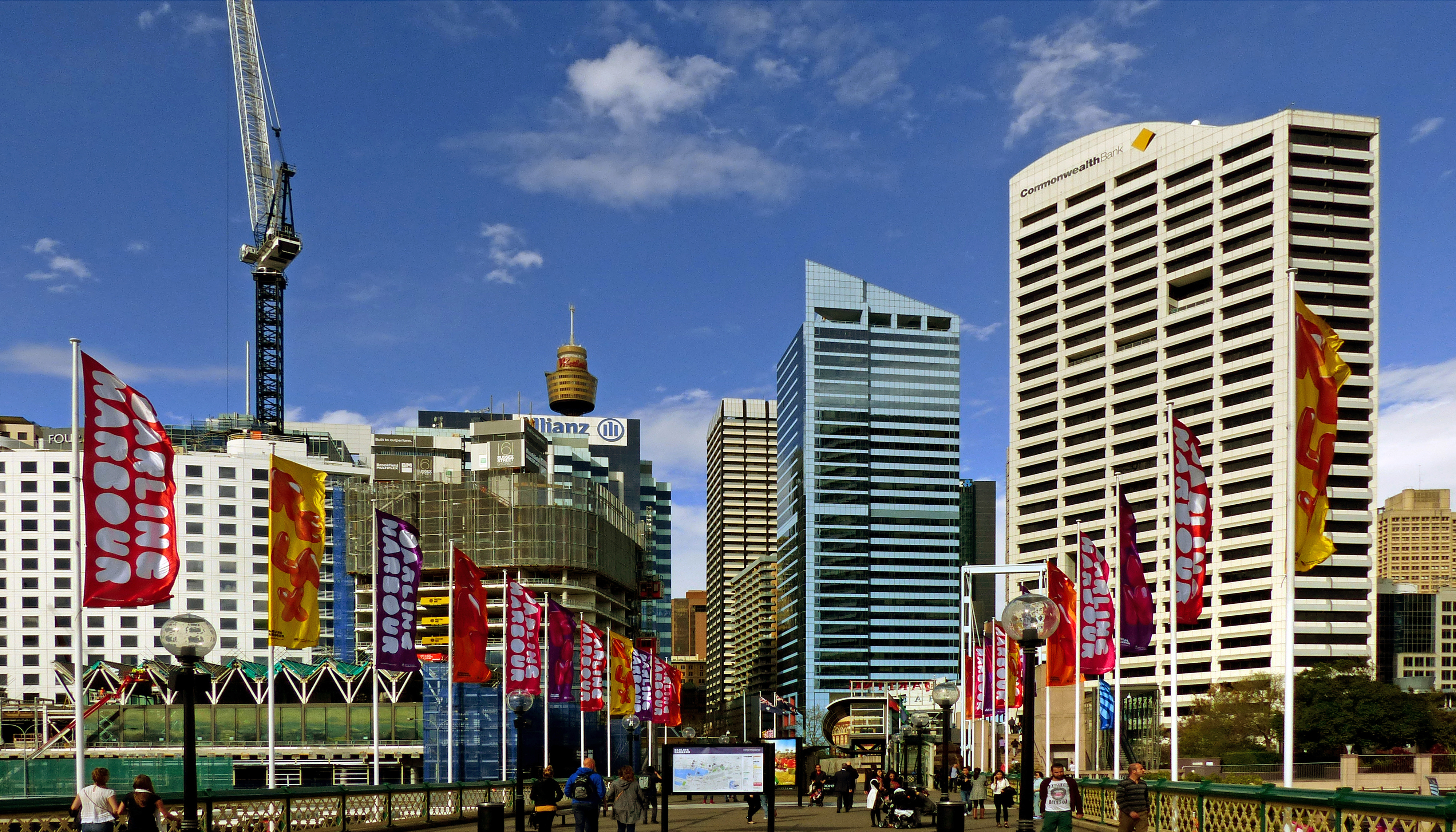 Sydney. darling harbour area. photo