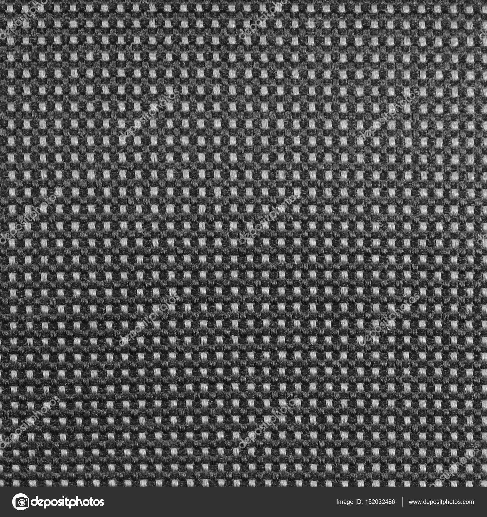 Grey nylon textile texture macro closeup, gray horizontal pattern ...