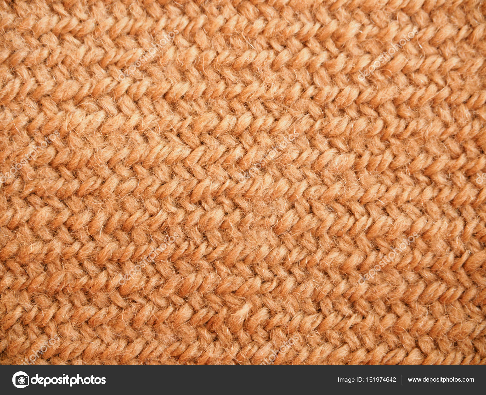A full page of synthetic faux material. Macro brown sweater, knitted ...