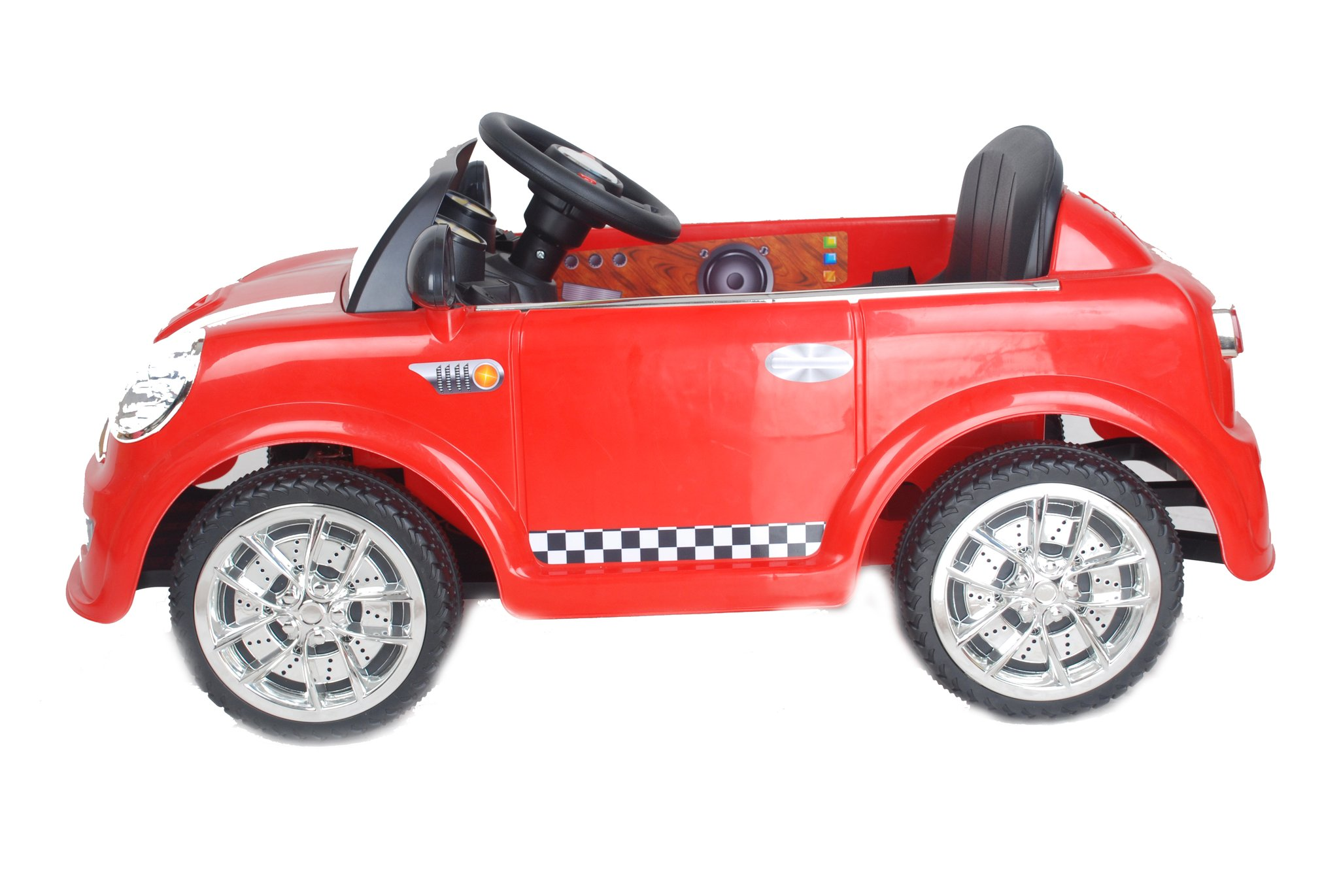 6V 15W Battery Powered Electric Ride On Mini Toy Car with Parental ...