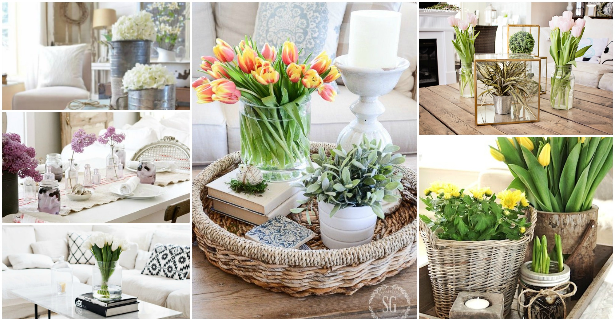 Spring Coffee Table Decor! See How They Did It!