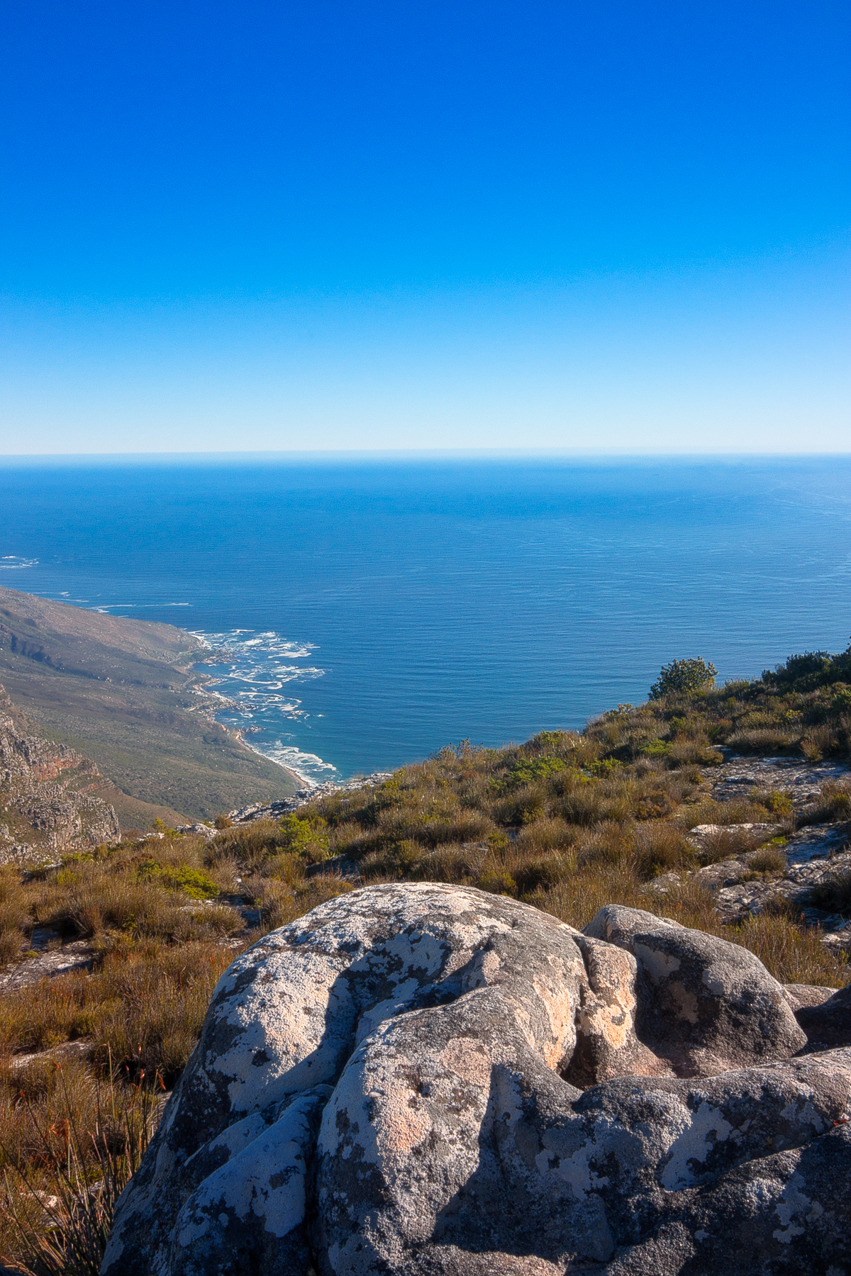Table mountain scenery - hdr photo