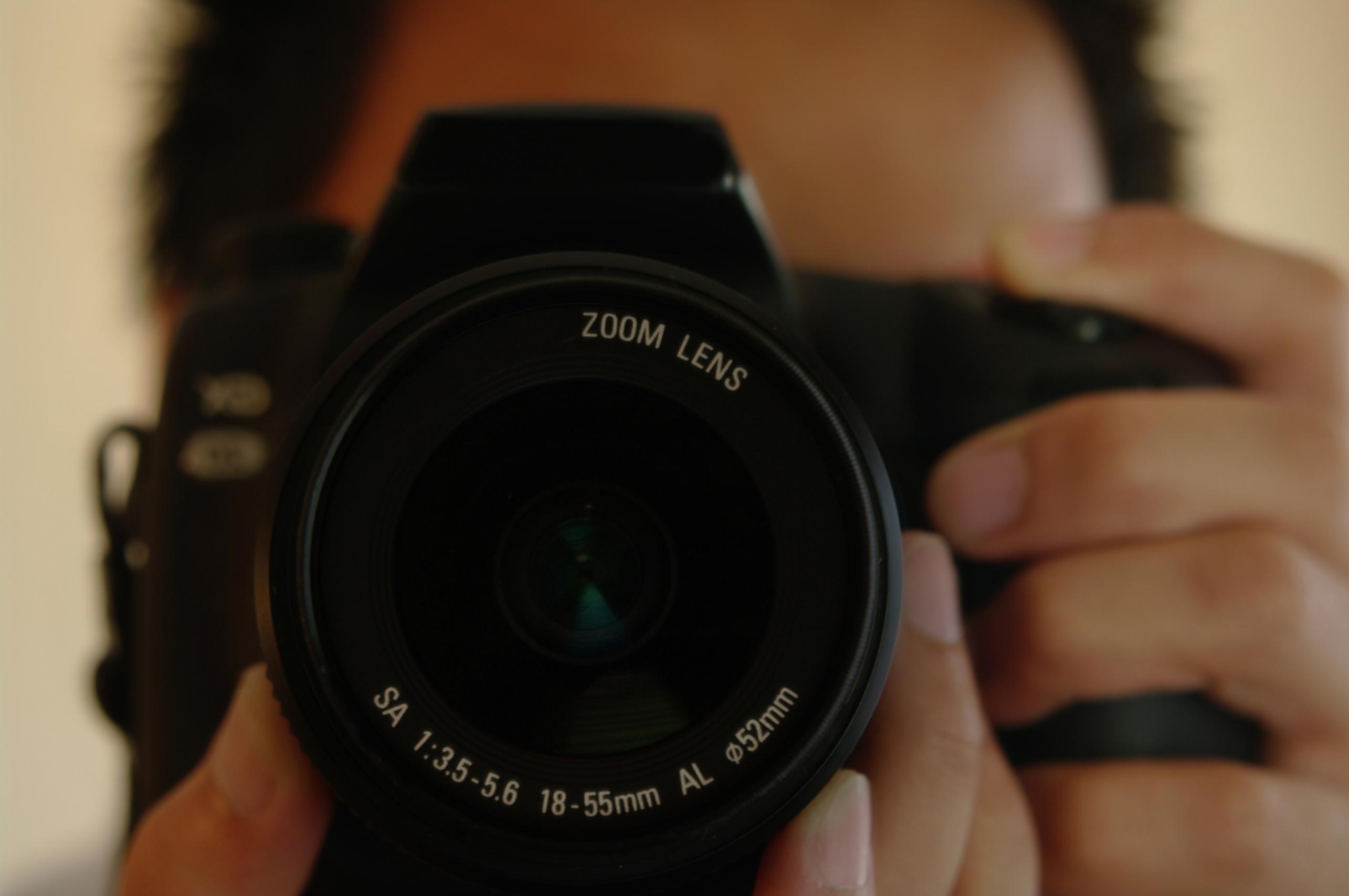Как делать фото с зеркалки