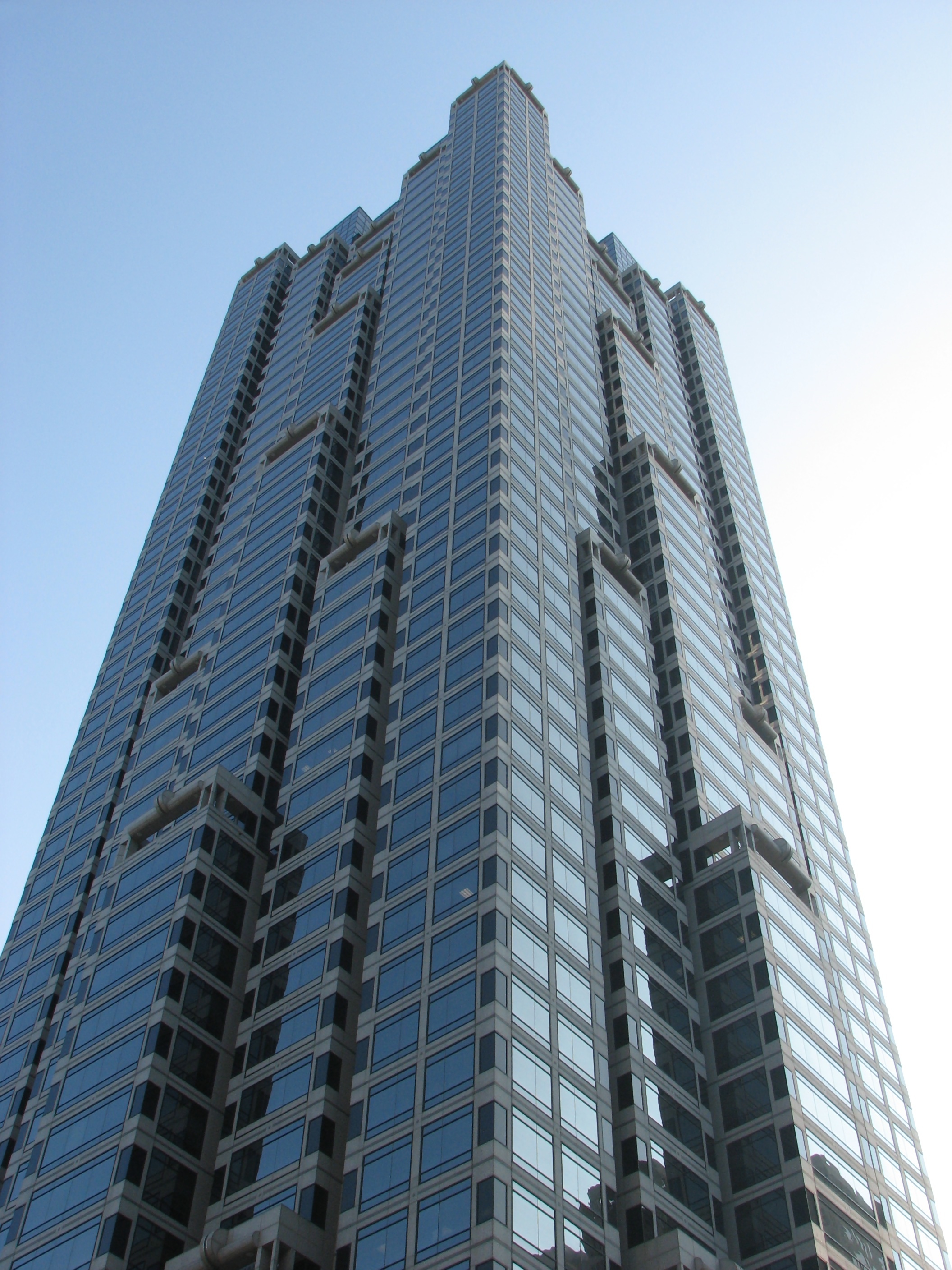 Tall building in downtown atlanta photo