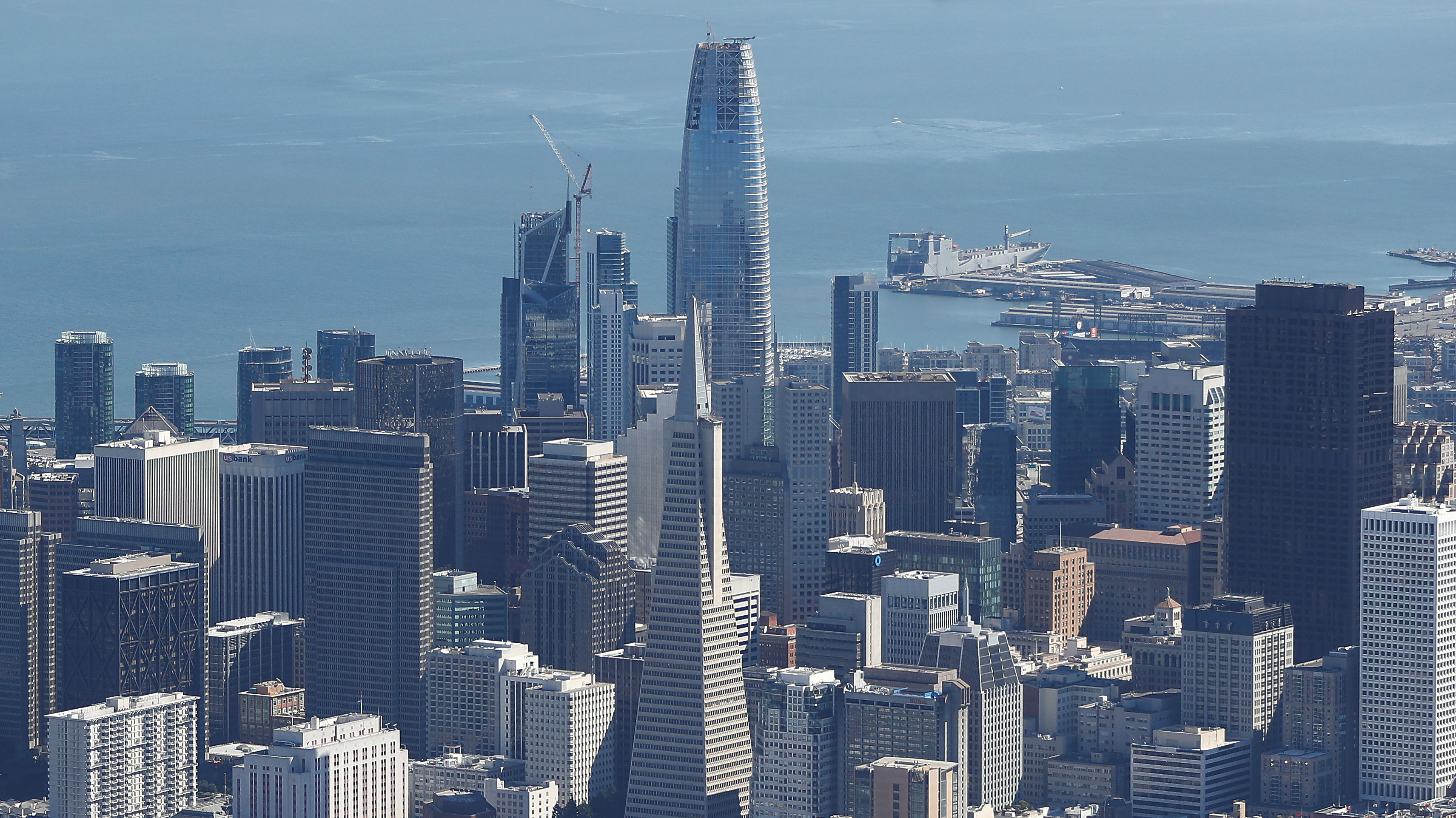 The Salesforce Tower makes San Francisco one of a few cities with ...