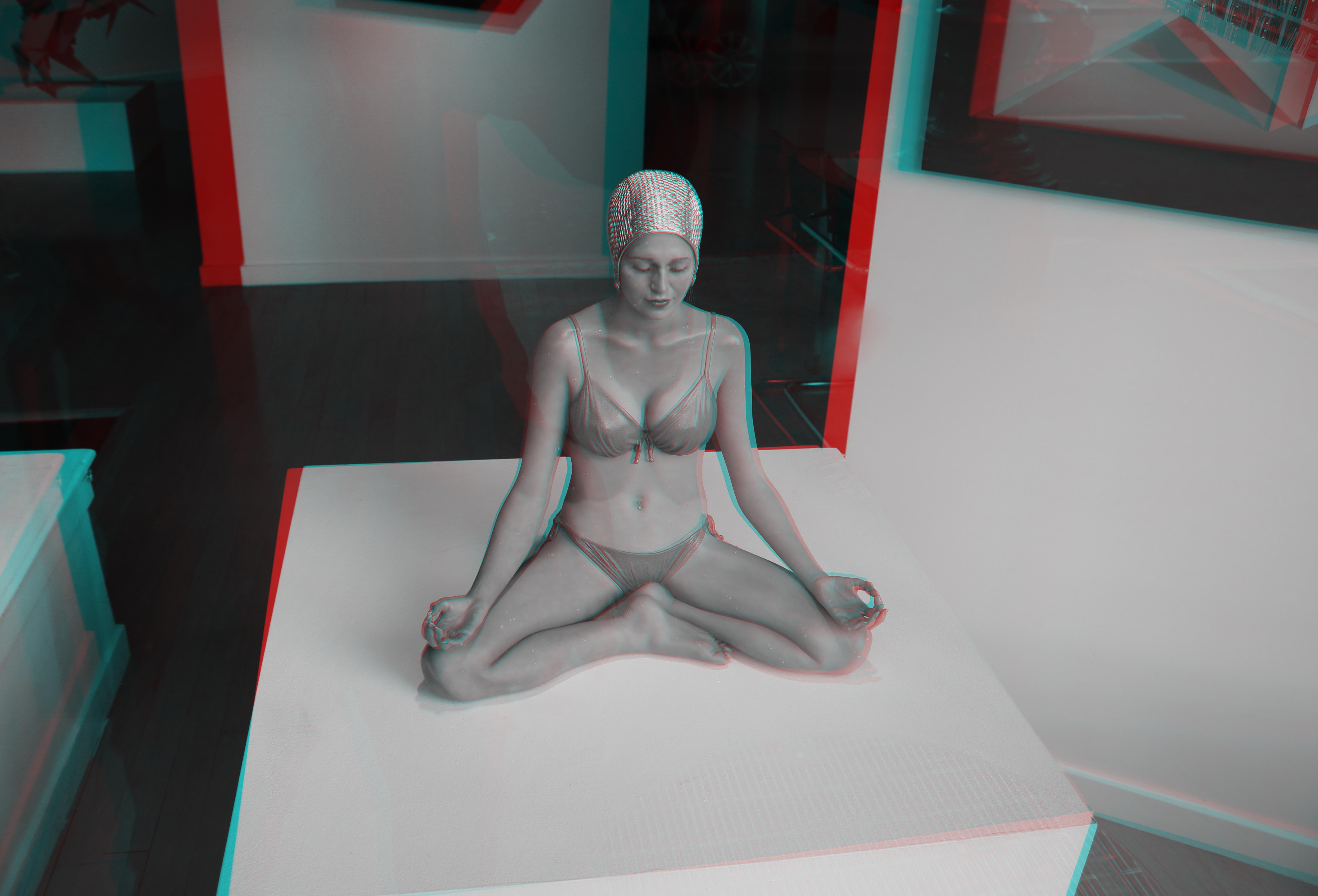 Tangen art gallery, san francisco (3d) photo