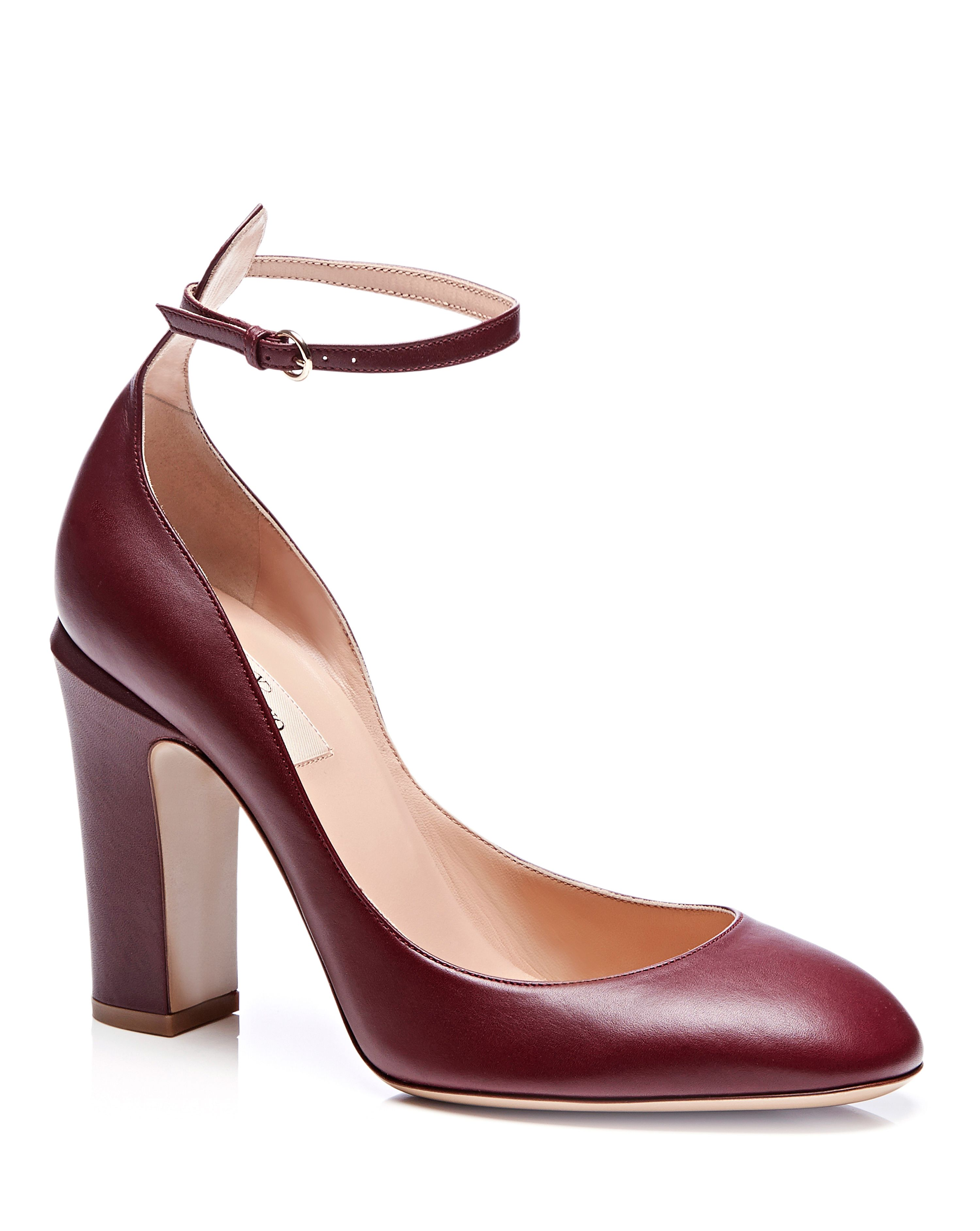 Valentino Tango Leather Mary-Jane Pumps | Wear to work | Pinterest ...