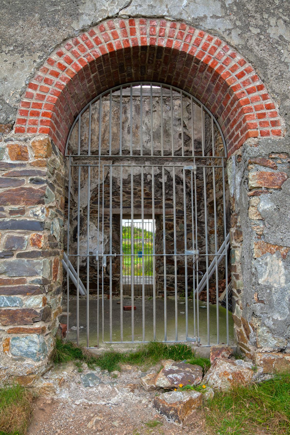 Tankardstown copper mine gate entrance - photo