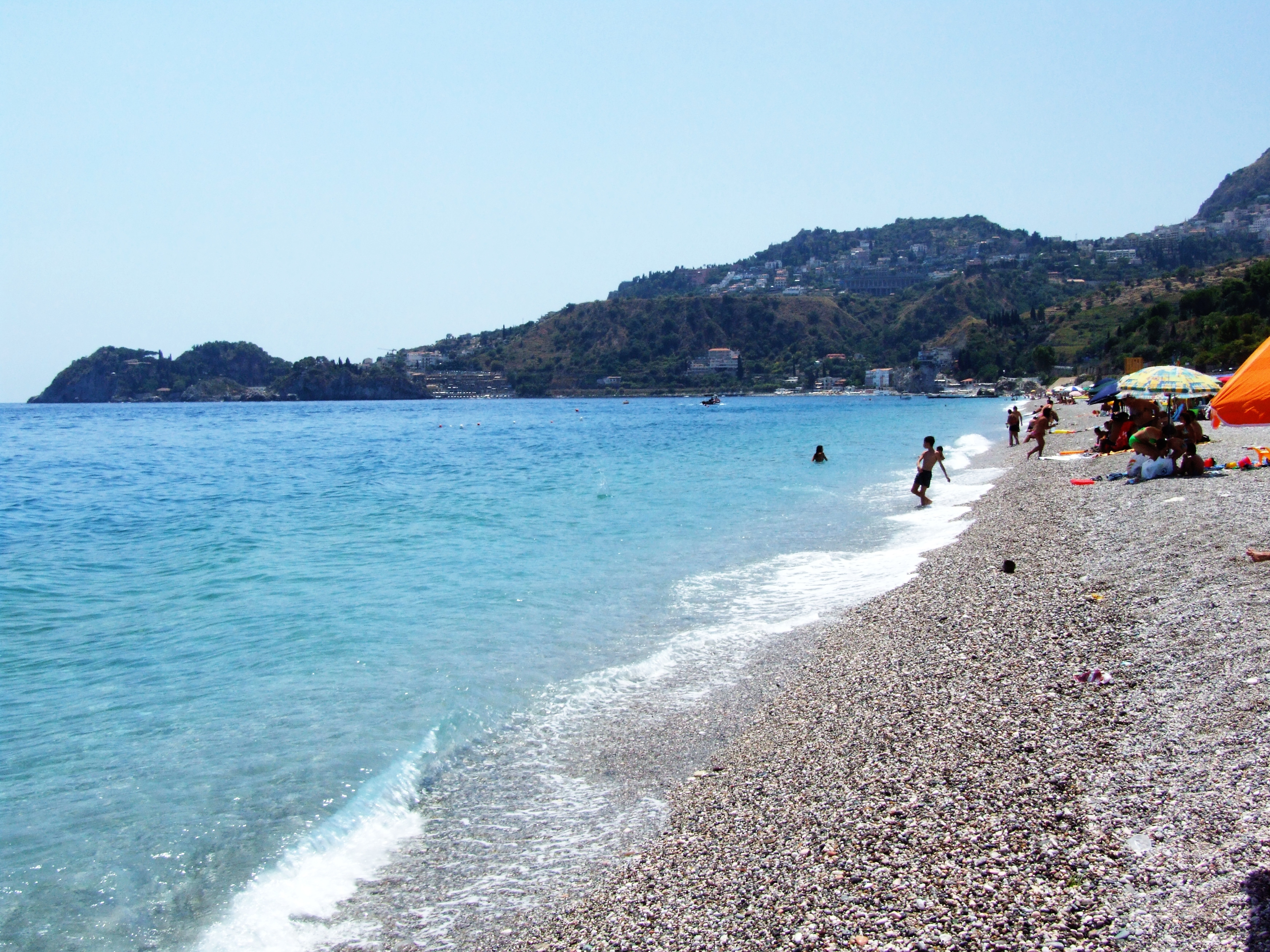 "Taormina-Messina-Sicilia-Italy - Creative Commons by gnuckx, Beach, Reserved"", ""No, Notizie, HQ Photo"