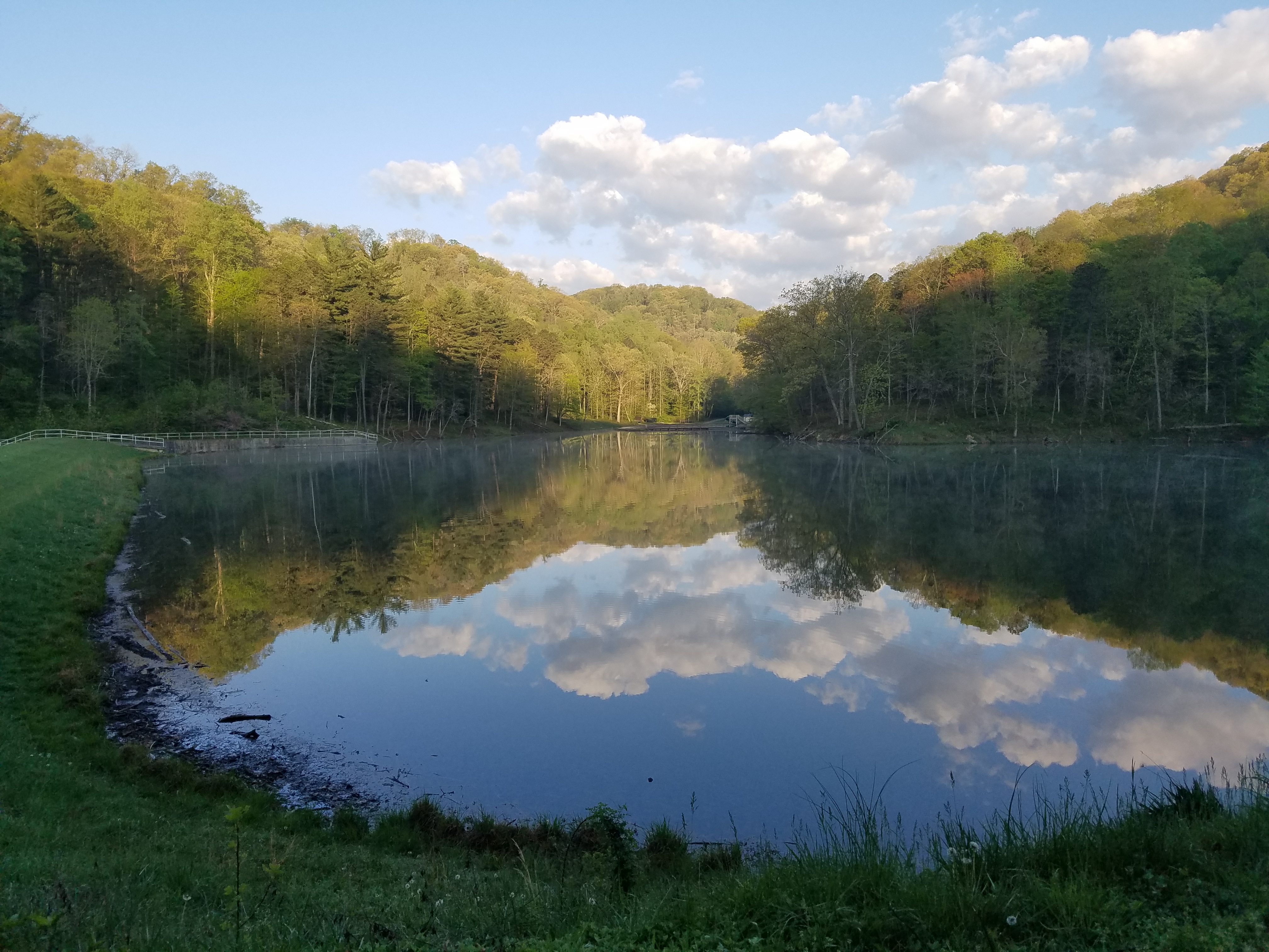 Tar Hollow State Park, Clouds, Park, Water, Trees, HQ Photo