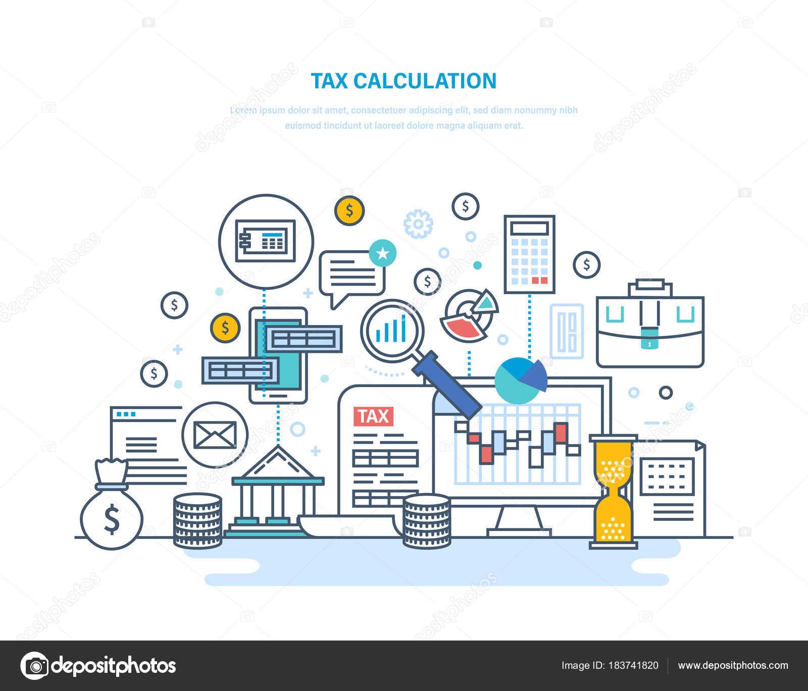 Taxes concept photo