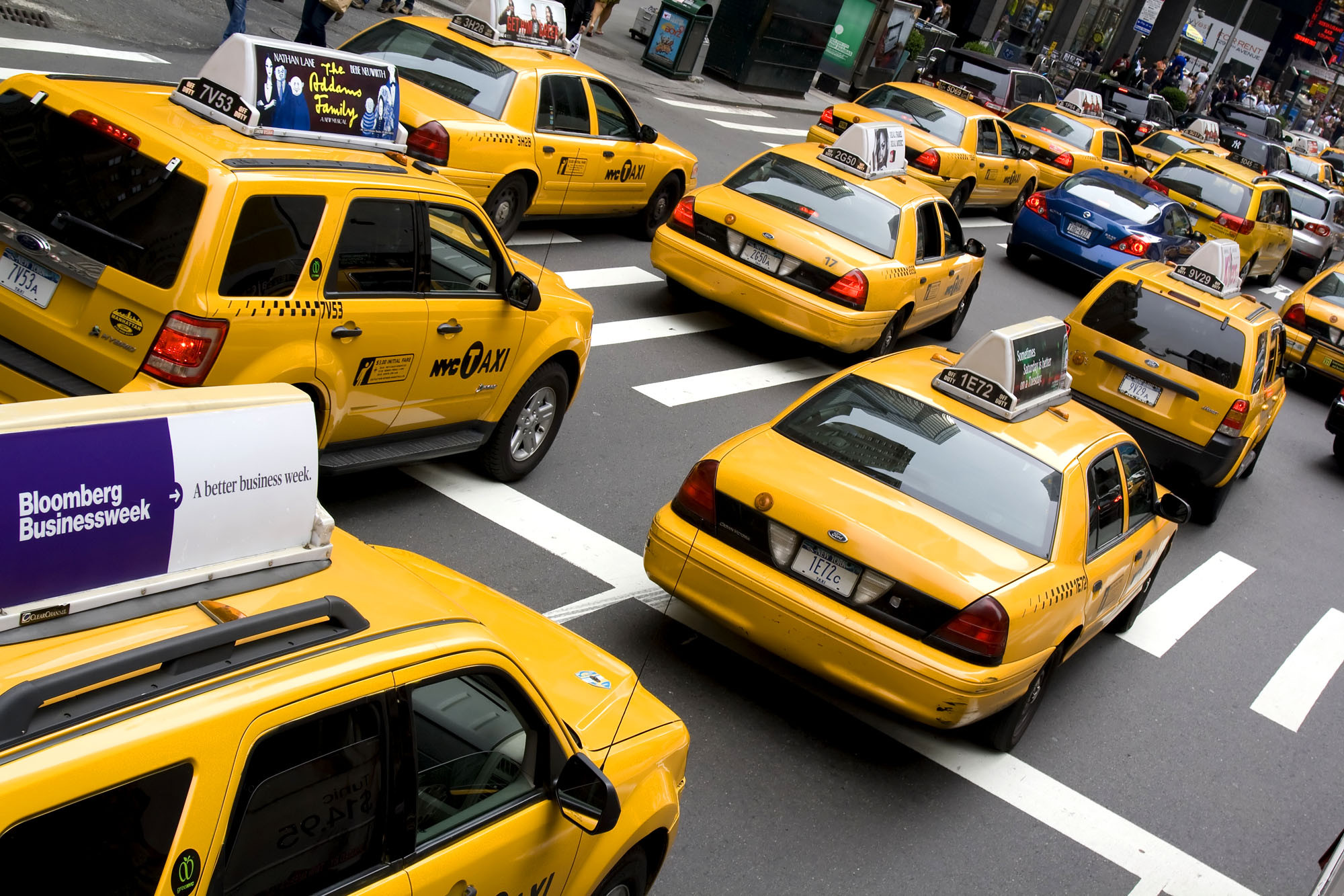 Taxis to sport black boxes, cameras in new safety program