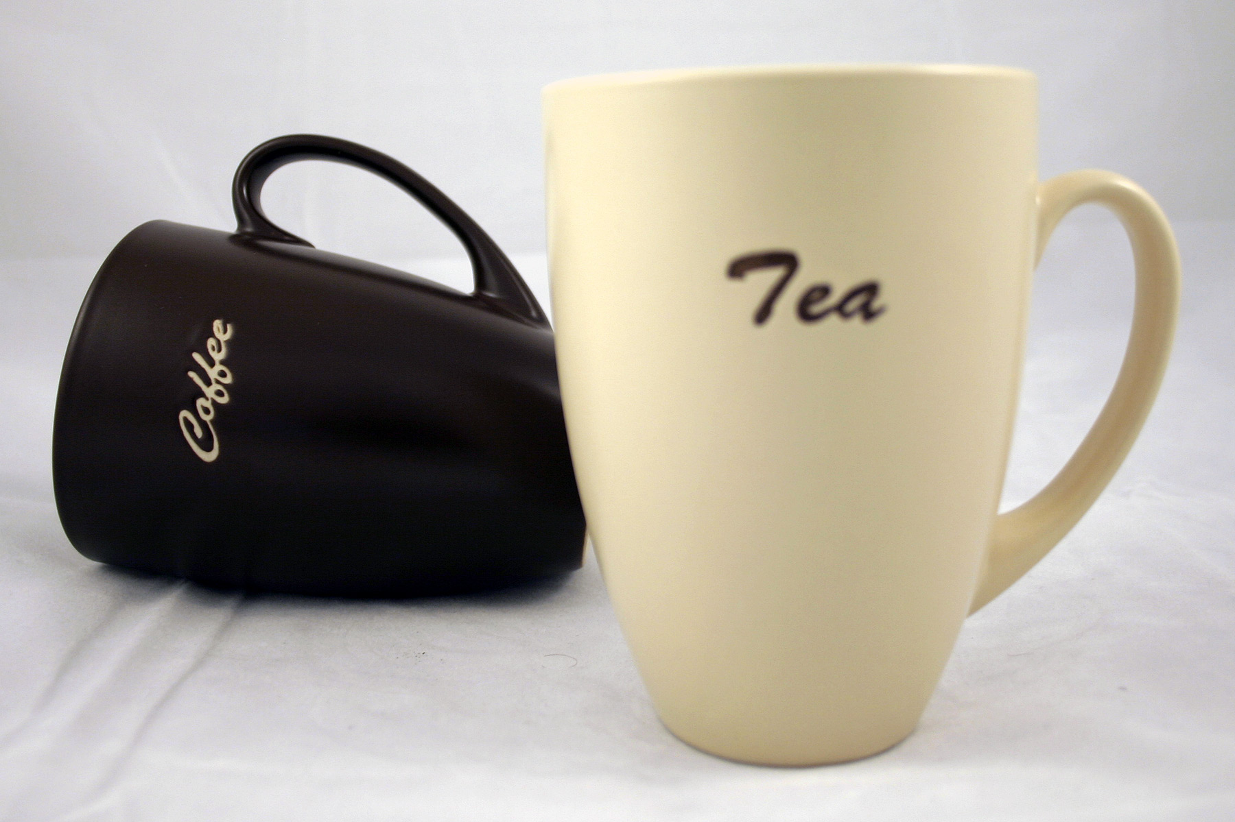 Tea and coffee mug photo