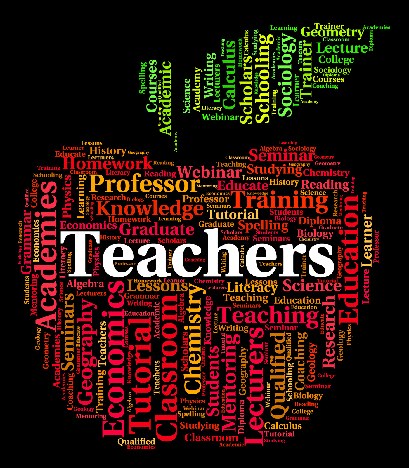 Teachers Word Indicates Give Lessons And Coach, Coach, Taught, Word, Webinar, HQ Photo