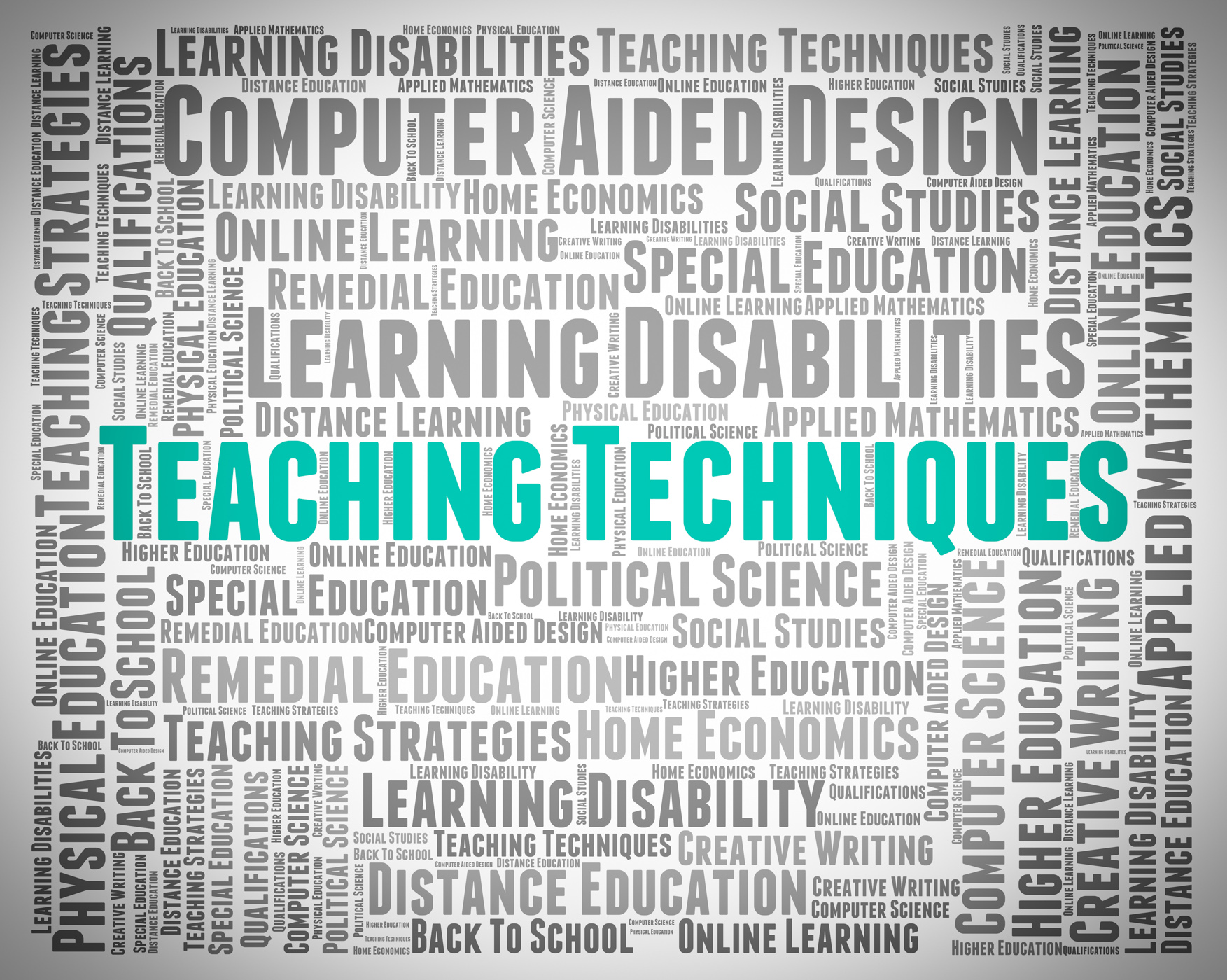 Teaching techniques indicates instruct educate and strategies photo