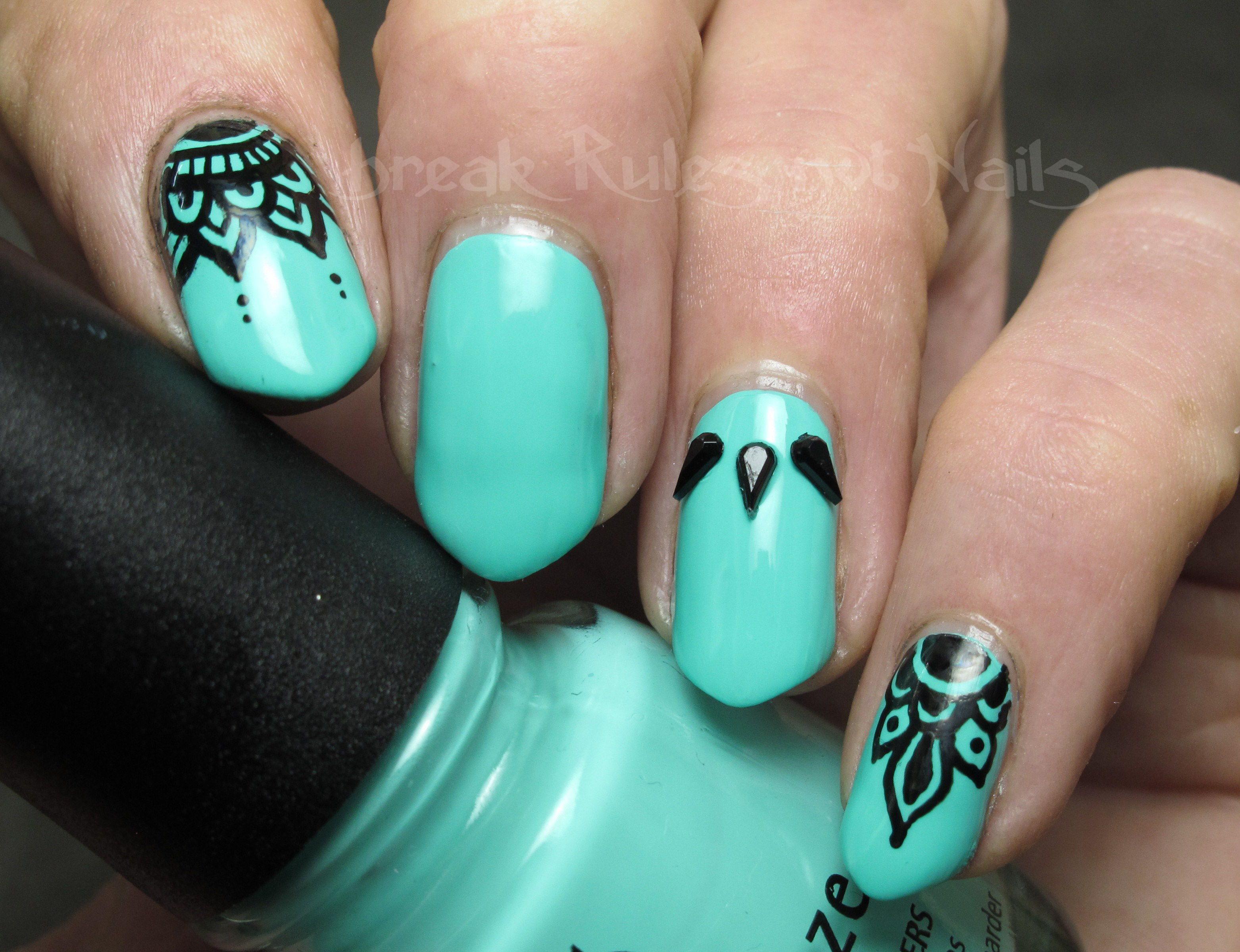 half nail colour - Google Search | Nails | Pinterest | Nail envy ...