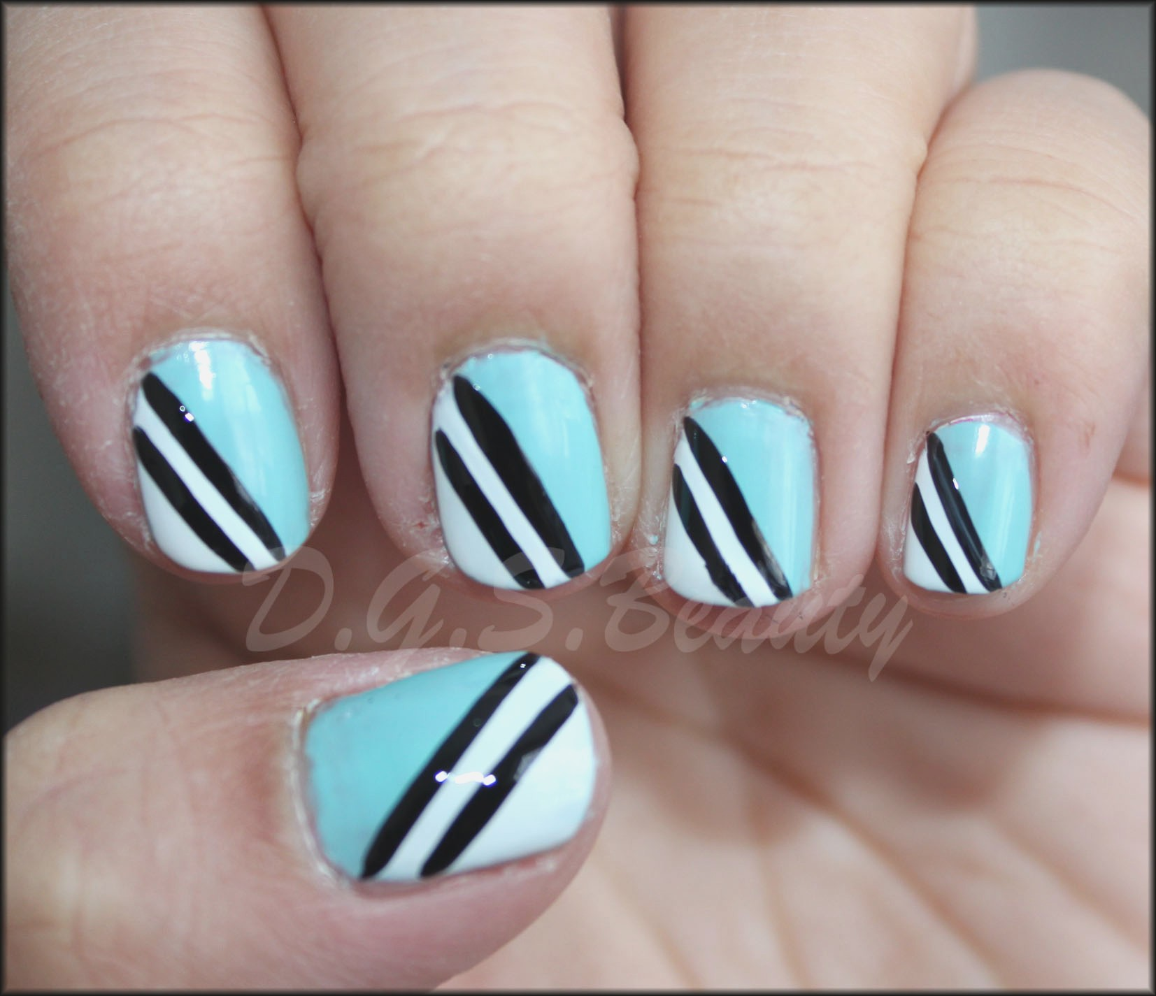 Ideas Diy Nails Art Black and White Nail Art Diy Best Nails 2018 ...